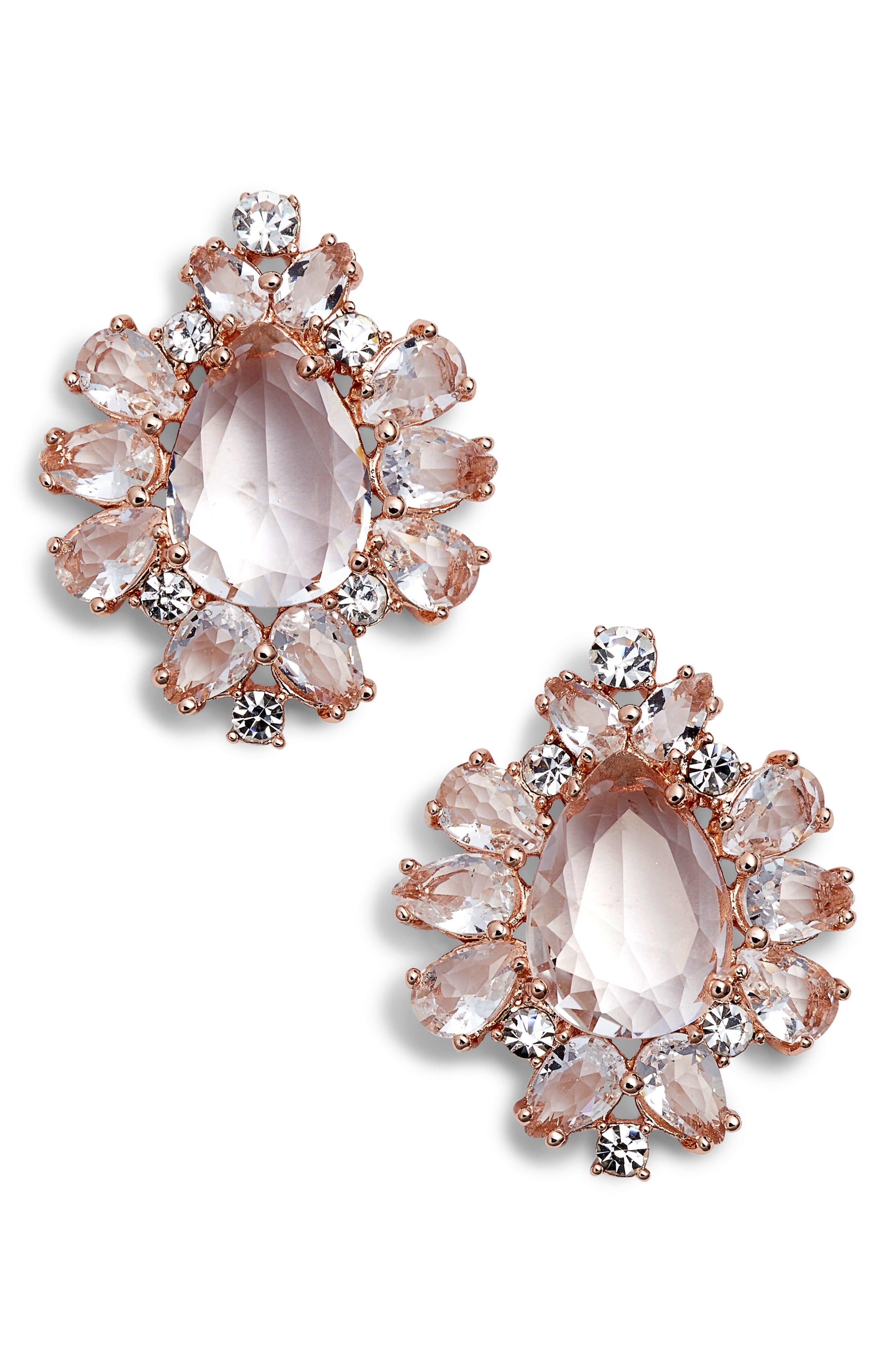 take a shine statement stud earrings,                             Main thumbnail 2, color,