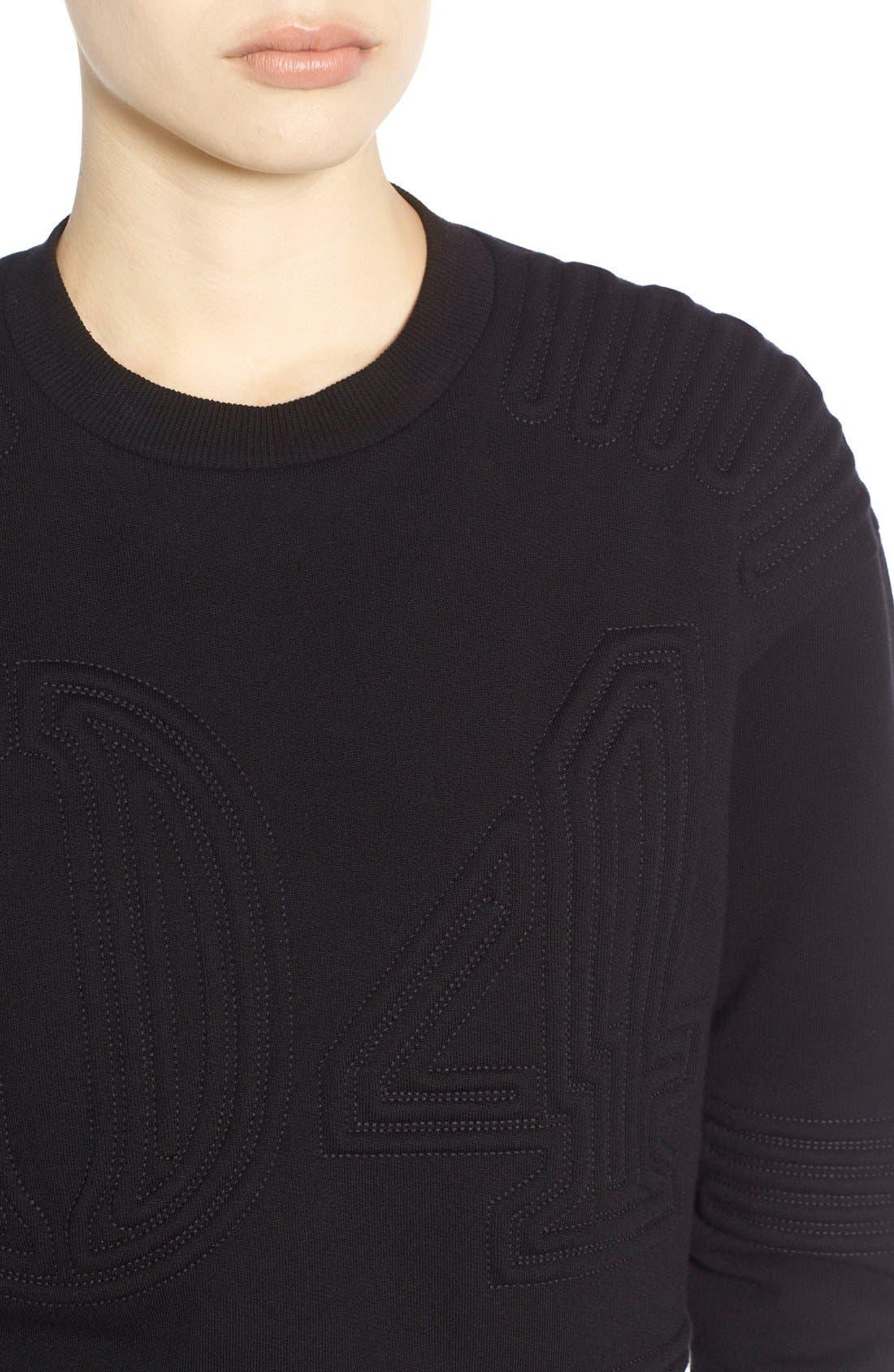Corded 04 Sweatshirt,                             Alternate thumbnail 2, color,                             001