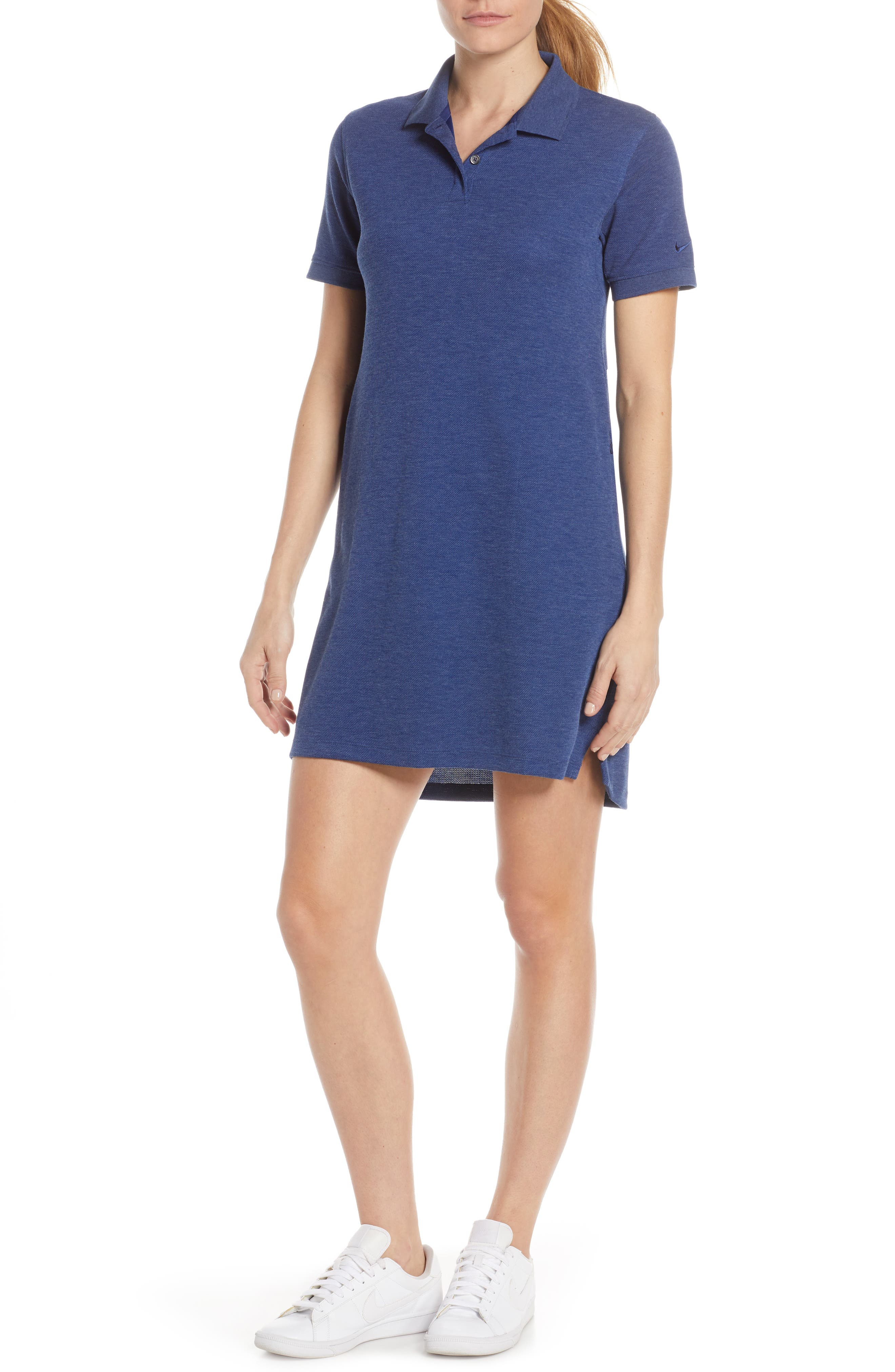 Nike Dri-Fit Polo Dress, Blue