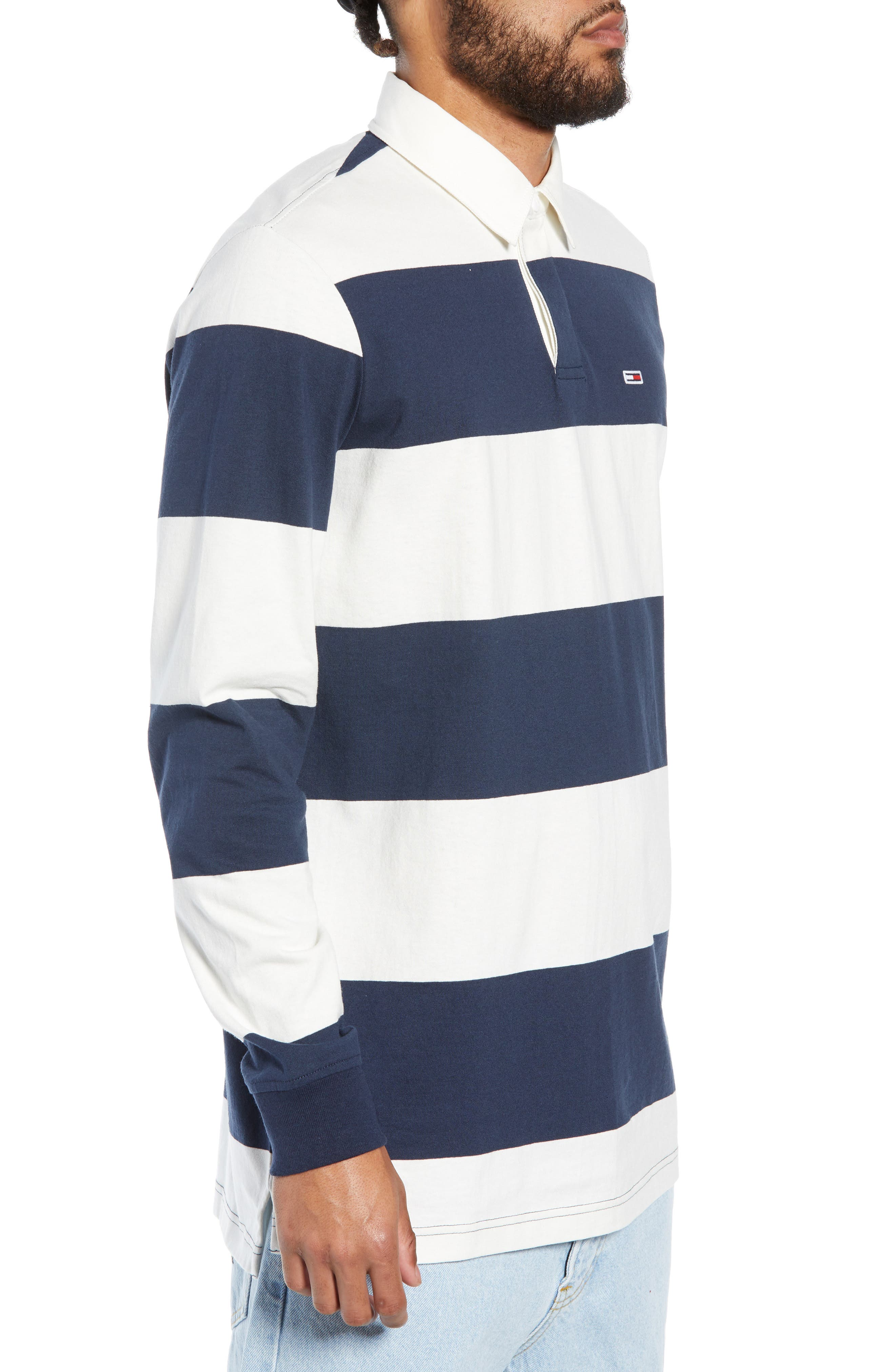 TJM Tommy Classics Rugby Shirt,                             Alternate thumbnail 3, color,                             100