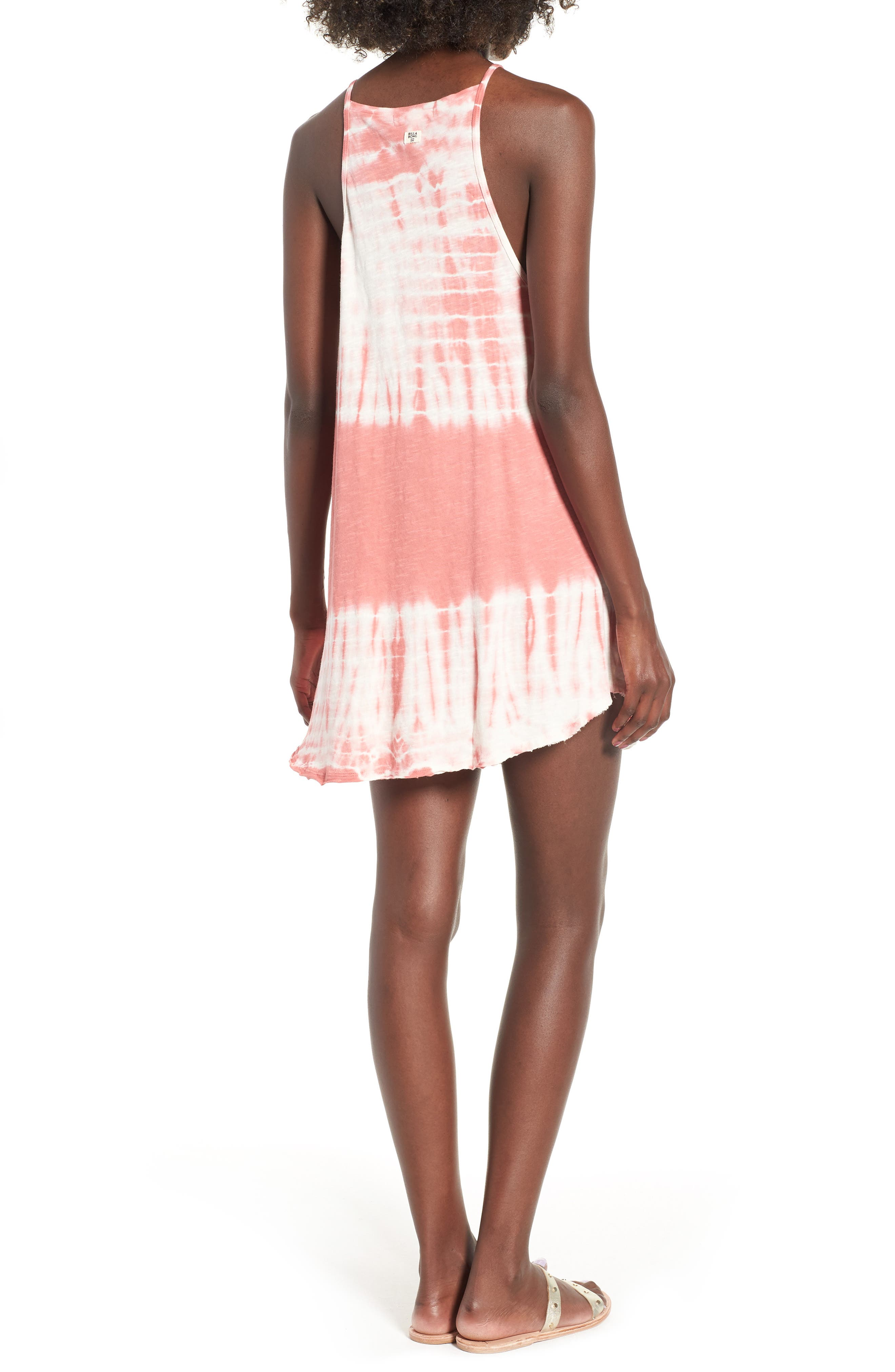 Turn Away Tie Dye Dress,                             Alternate thumbnail 2, color,                             SUNBURNT