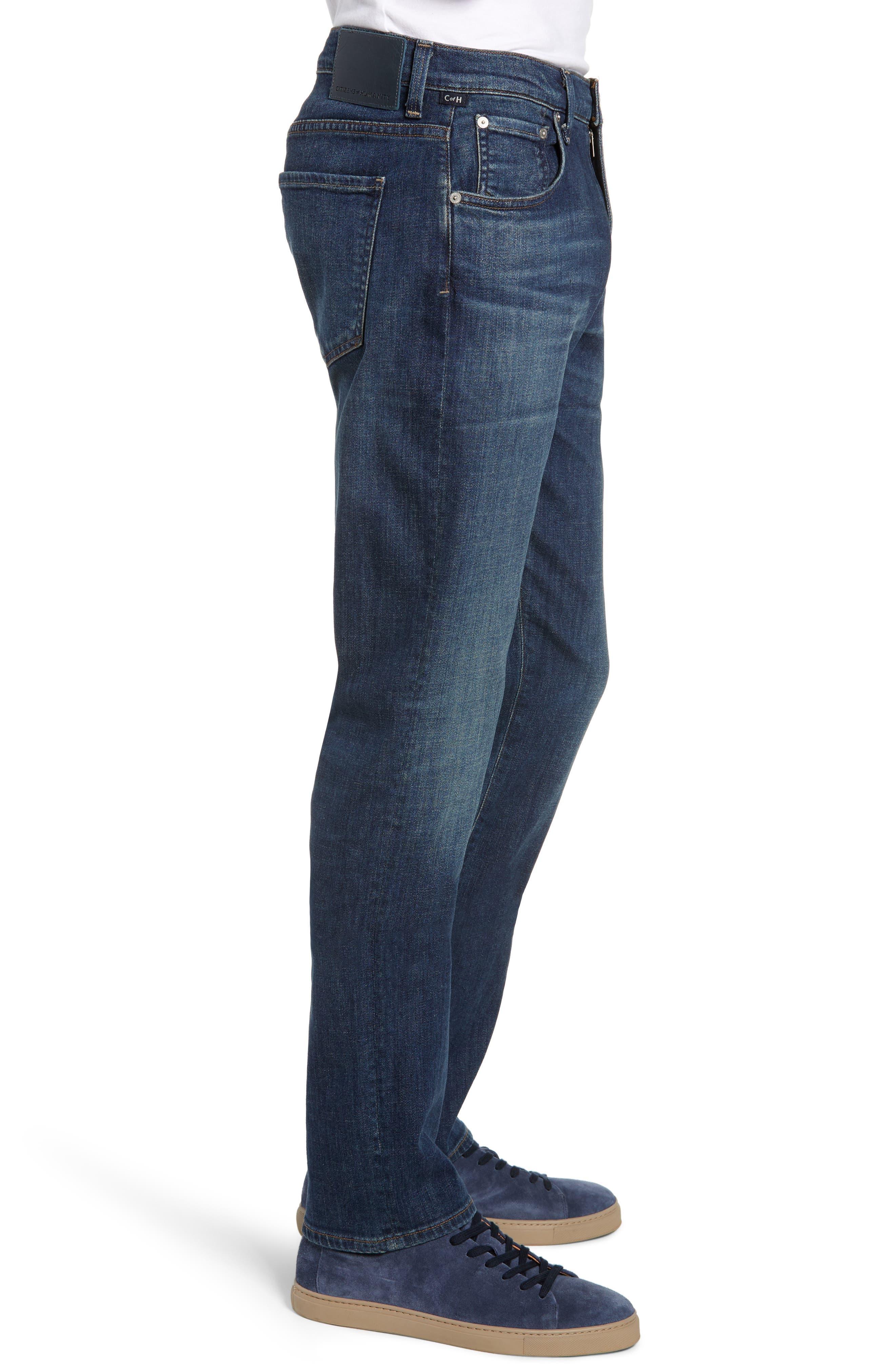 Gage Slim Straight Leg Jeans,                             Alternate thumbnail 3, color,                             EUGENE