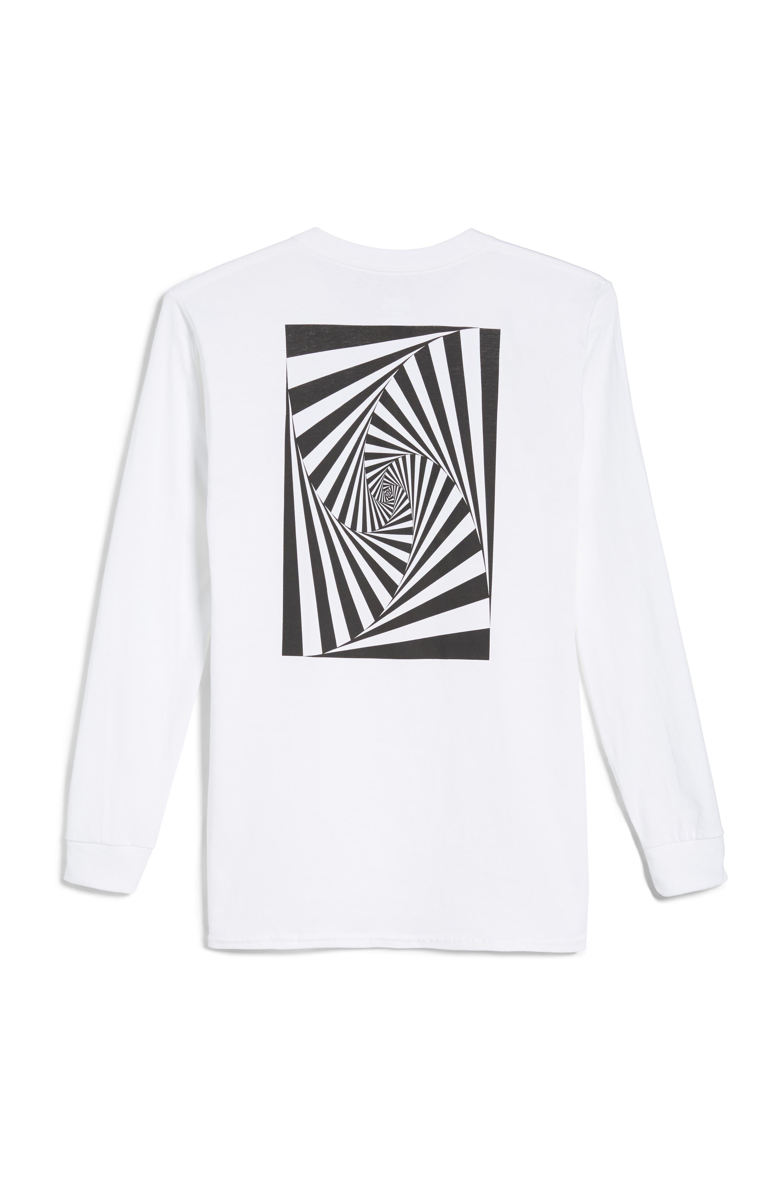 Vision Street Wear Long Sleeve T-Shirt,                             Main thumbnail 1, color,                             100