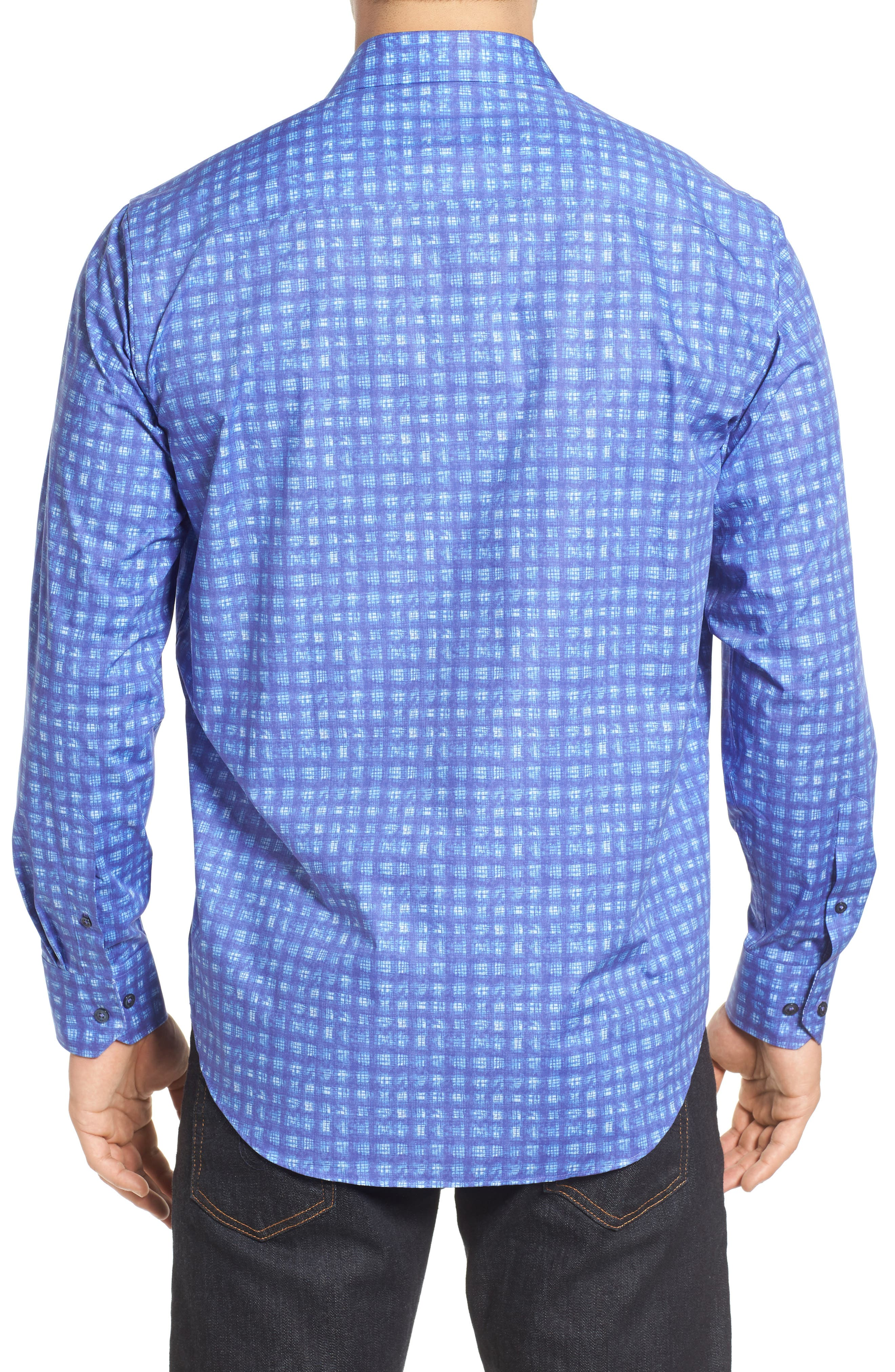 Classic Fit Sport Shirt,                             Alternate thumbnail 2, color,                             408