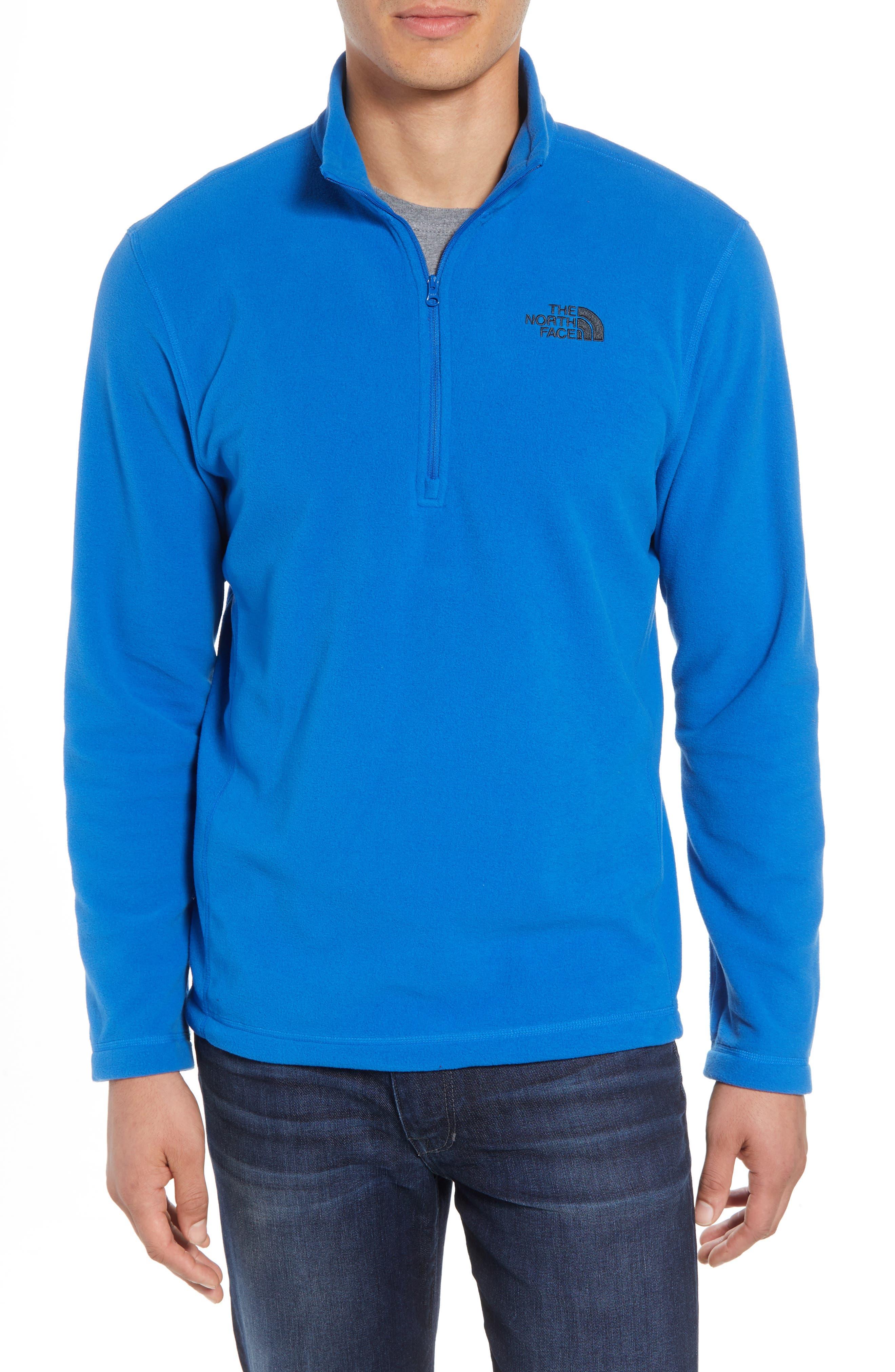 'TKA 100 Glacier' Quarter Zip Fleece Pullover,                             Main thumbnail 8, color,