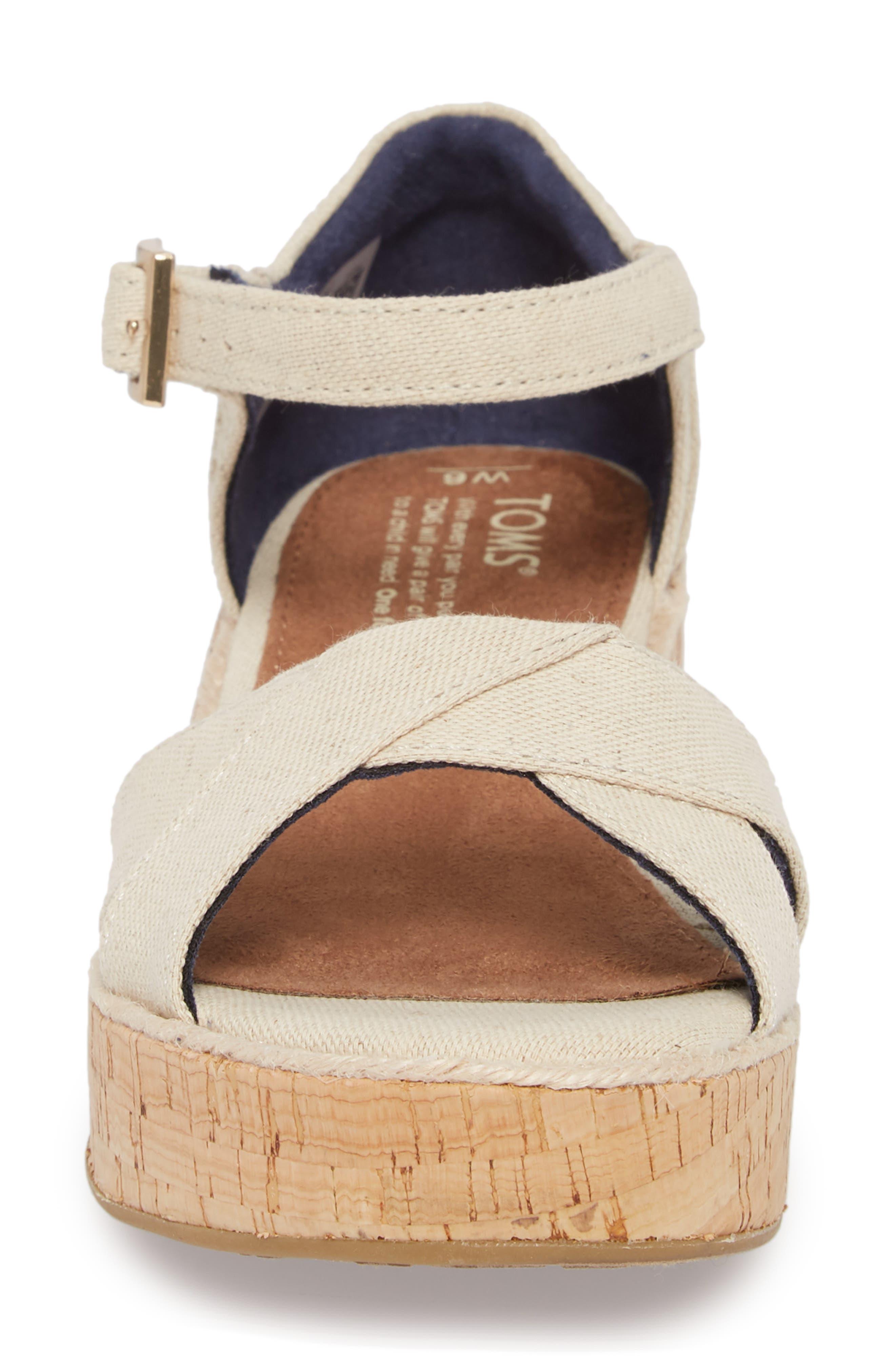 Harper Platform Sandal,                             Alternate thumbnail 8, color,