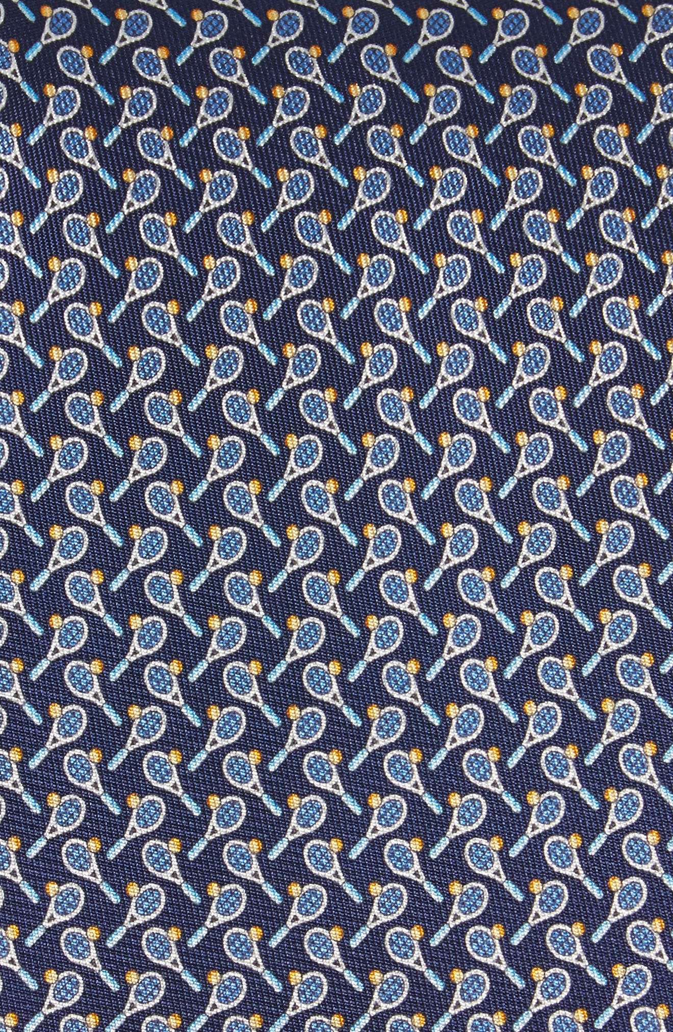 Emma Print Silk Tie,                             Alternate thumbnail 4, color,
