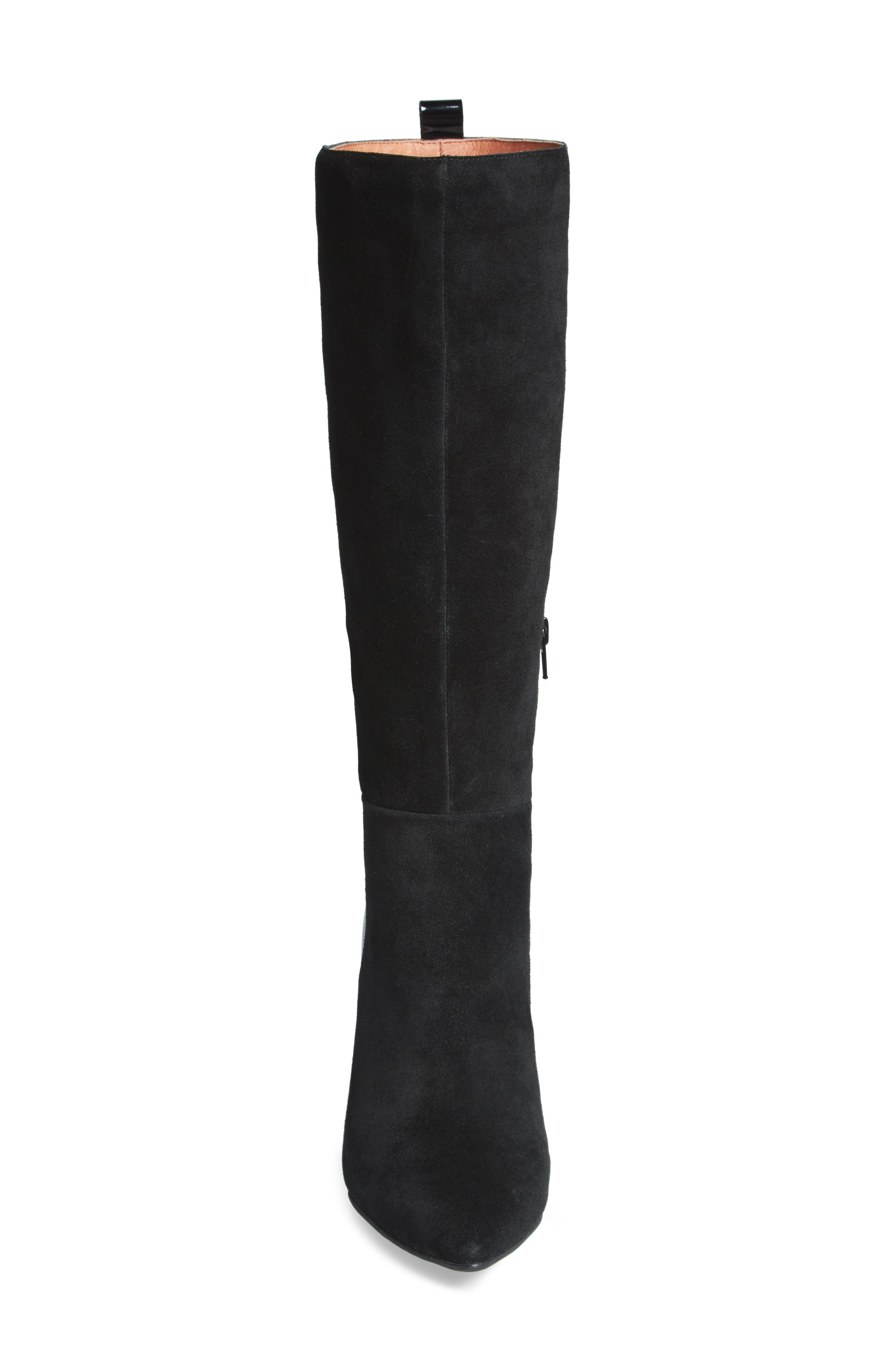Rosalva Knee High Wedge Boot,                             Alternate thumbnail 4, color,