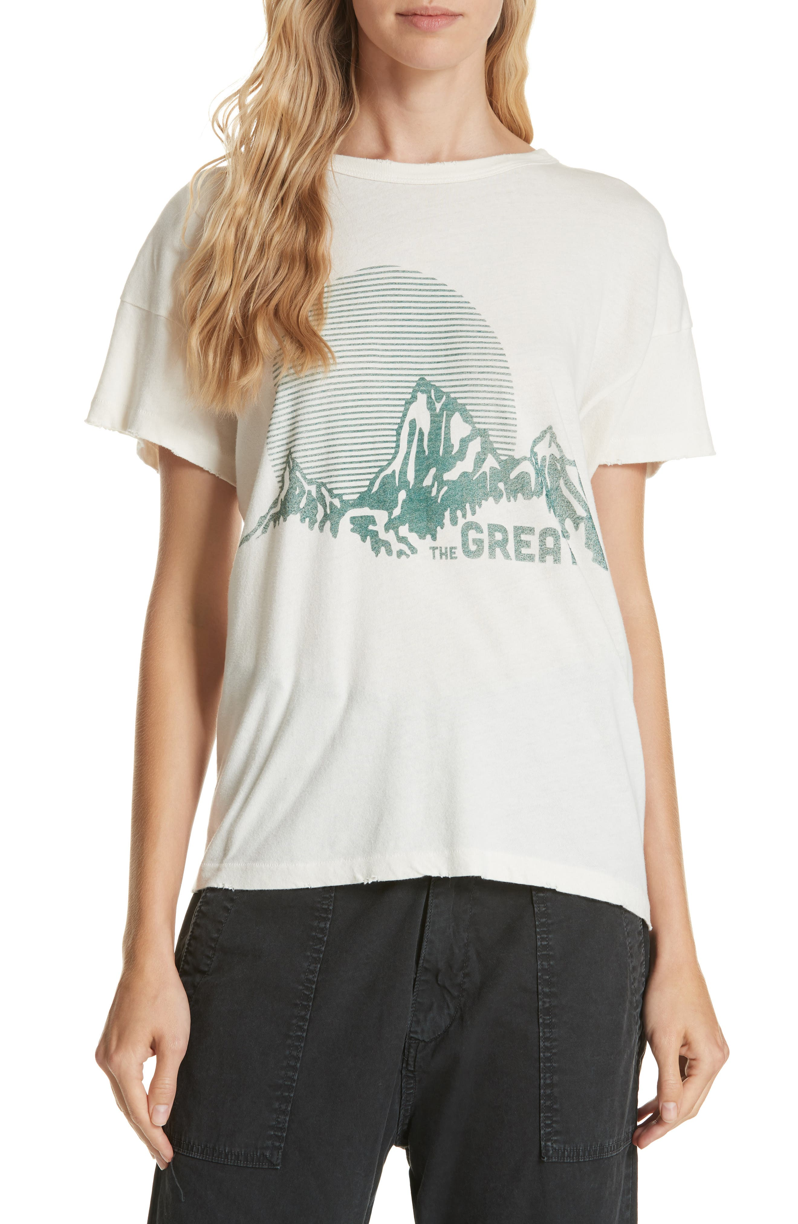 The Boxy Graphic Tee,                         Main,                         color,