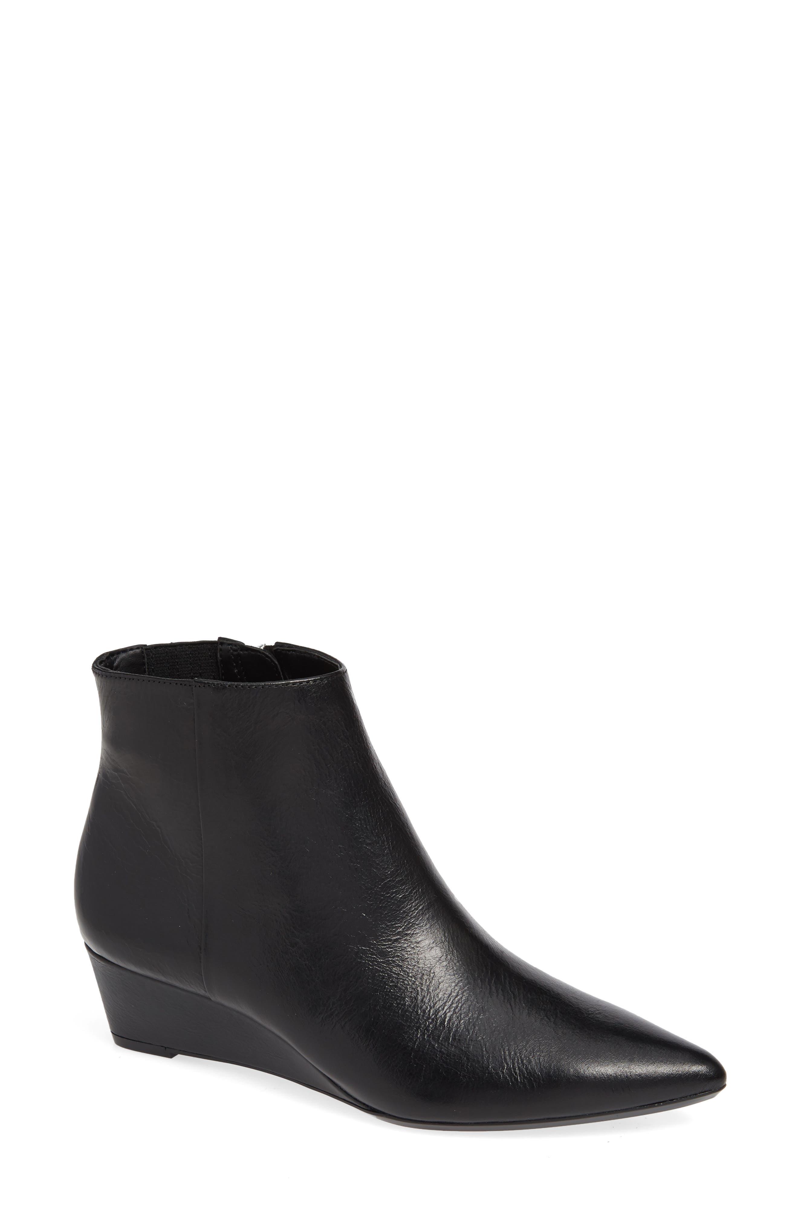 Calvin Klein Gael Wedge Bootie- Black