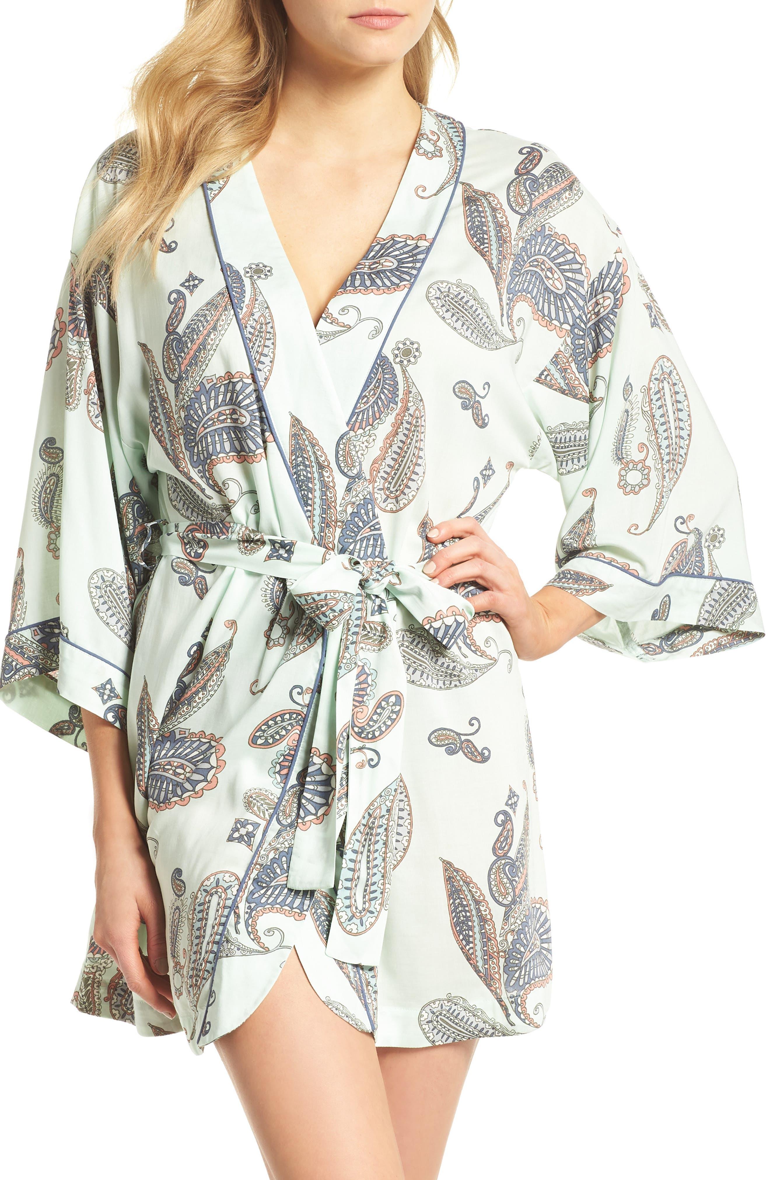 Sweet Dreams Short Robe,                         Main,                         color, 330