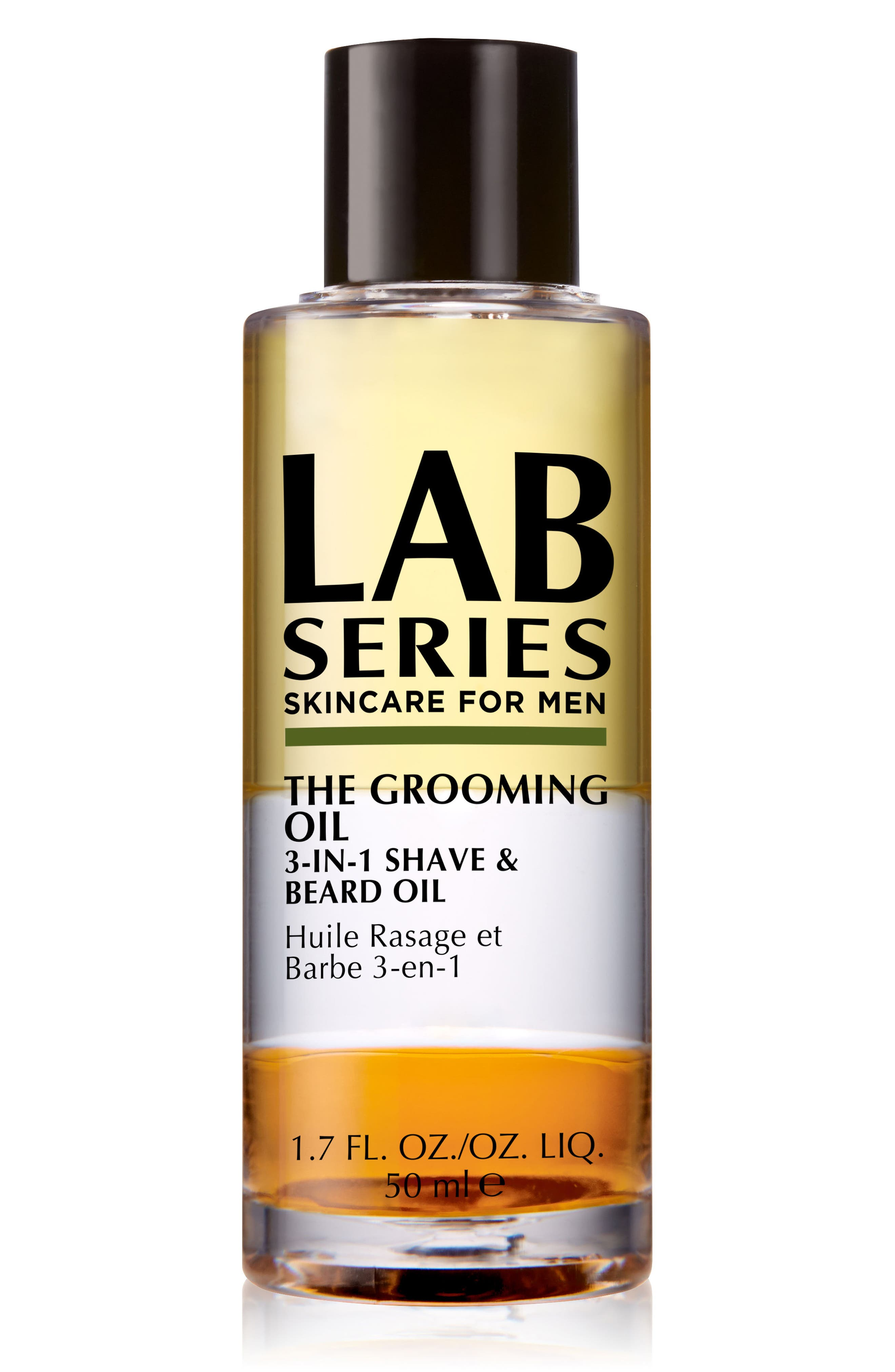 LAB SERIES SKINCARE FOR MEN,                             The Grooming 3-in-1 Shave & Beard Oil,                             Main thumbnail 1, color,                             NO COLOR