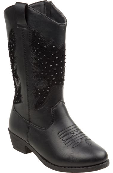 ca03e3a3d87 kensie girl Studded Western Boot (Toddler