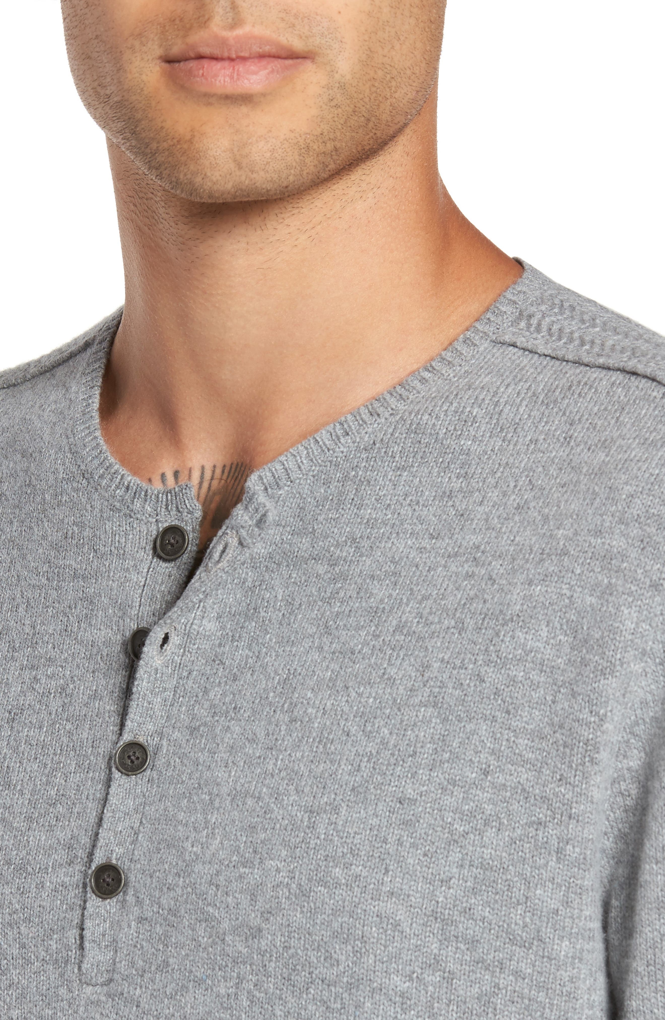 Henley Sweater,                             Alternate thumbnail 7, color,