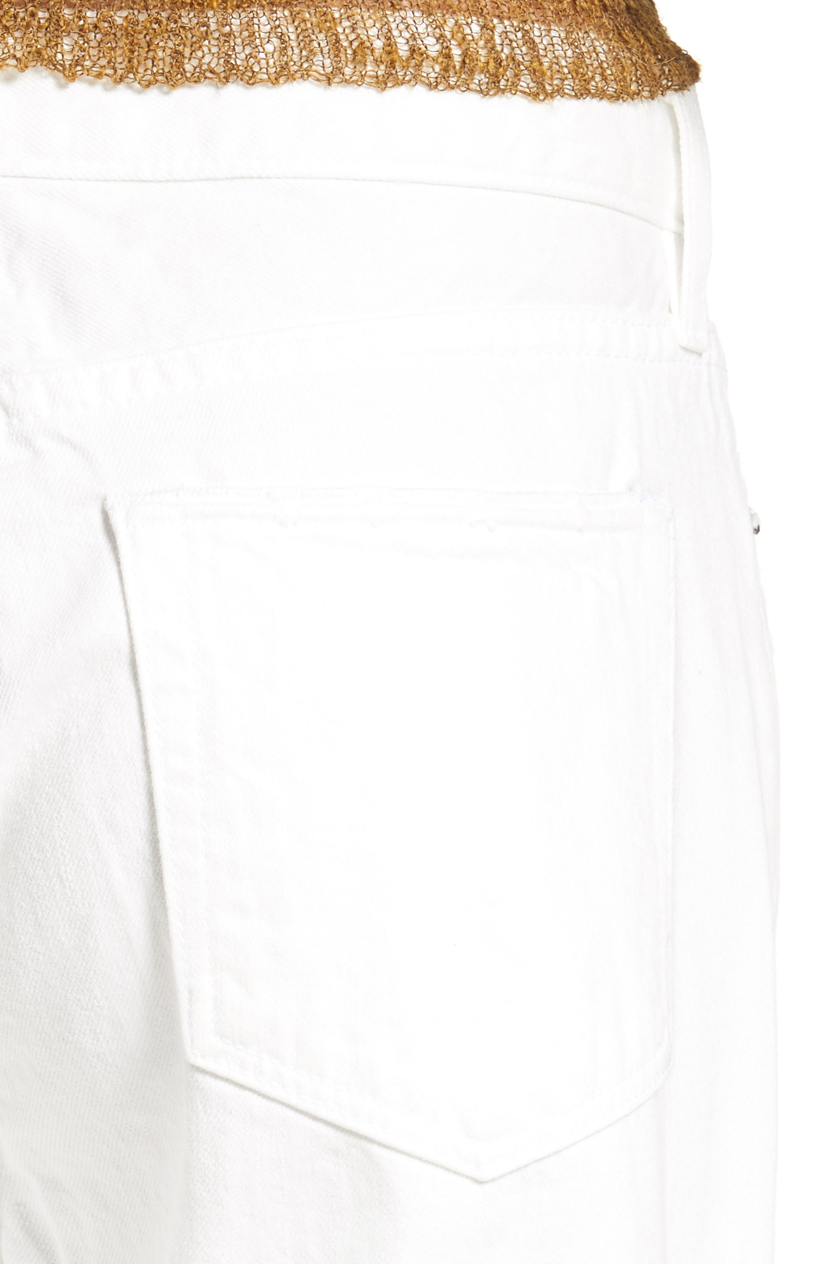 Latta Ankle Jeans,                             Alternate thumbnail 4, color,                             100