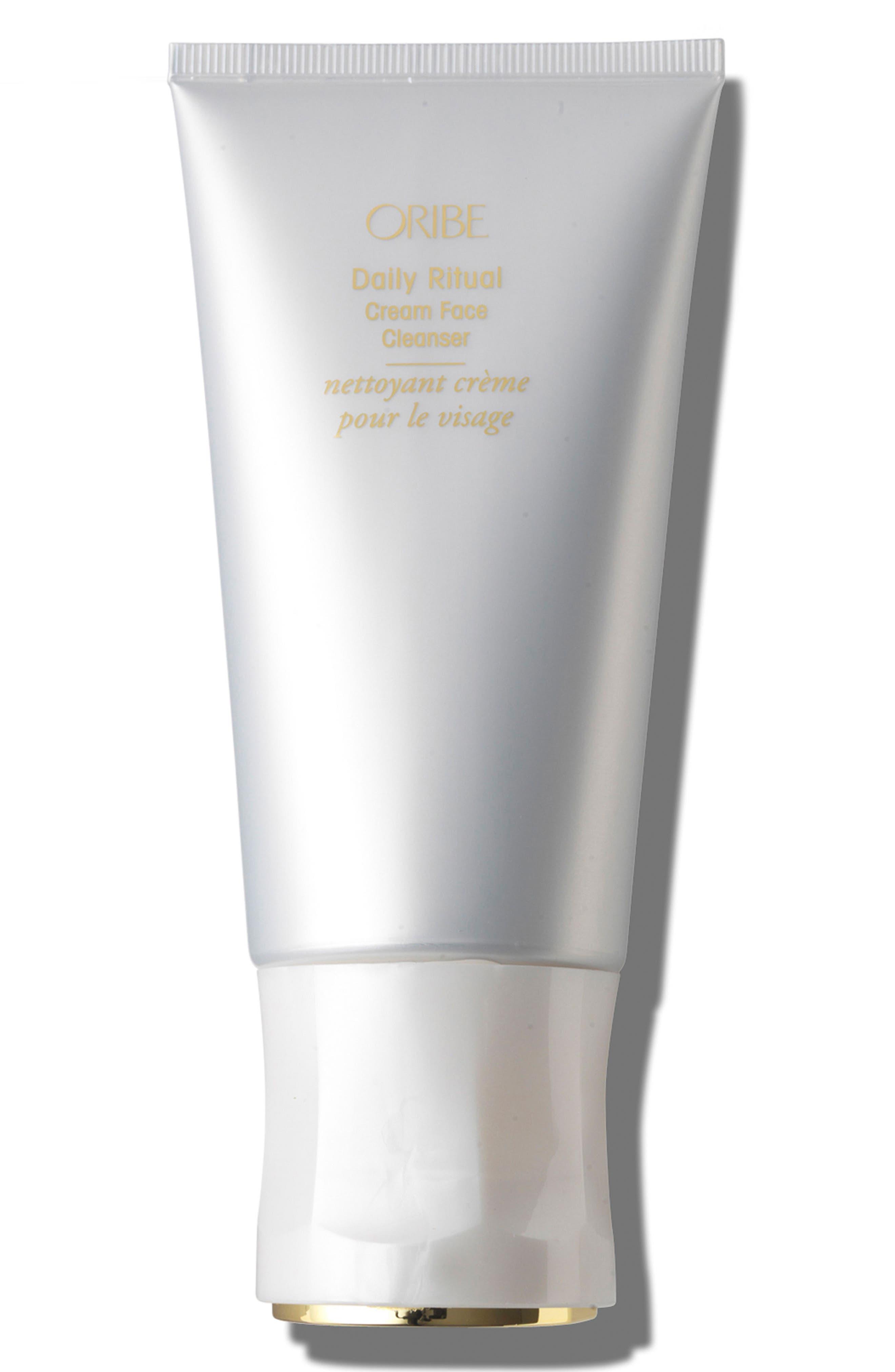 SPACE.NK.apothecary Oribe Daily Ritual Cream Face Cleanser,                             Main thumbnail 1, color,                             000