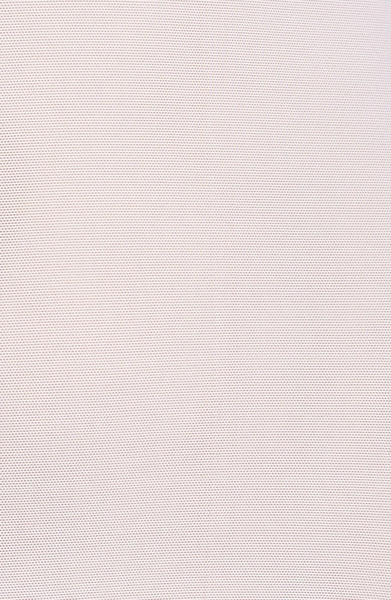 Fleur de Lis Lace Bodysuit,                             Alternate thumbnail 5, color,                             WHITE