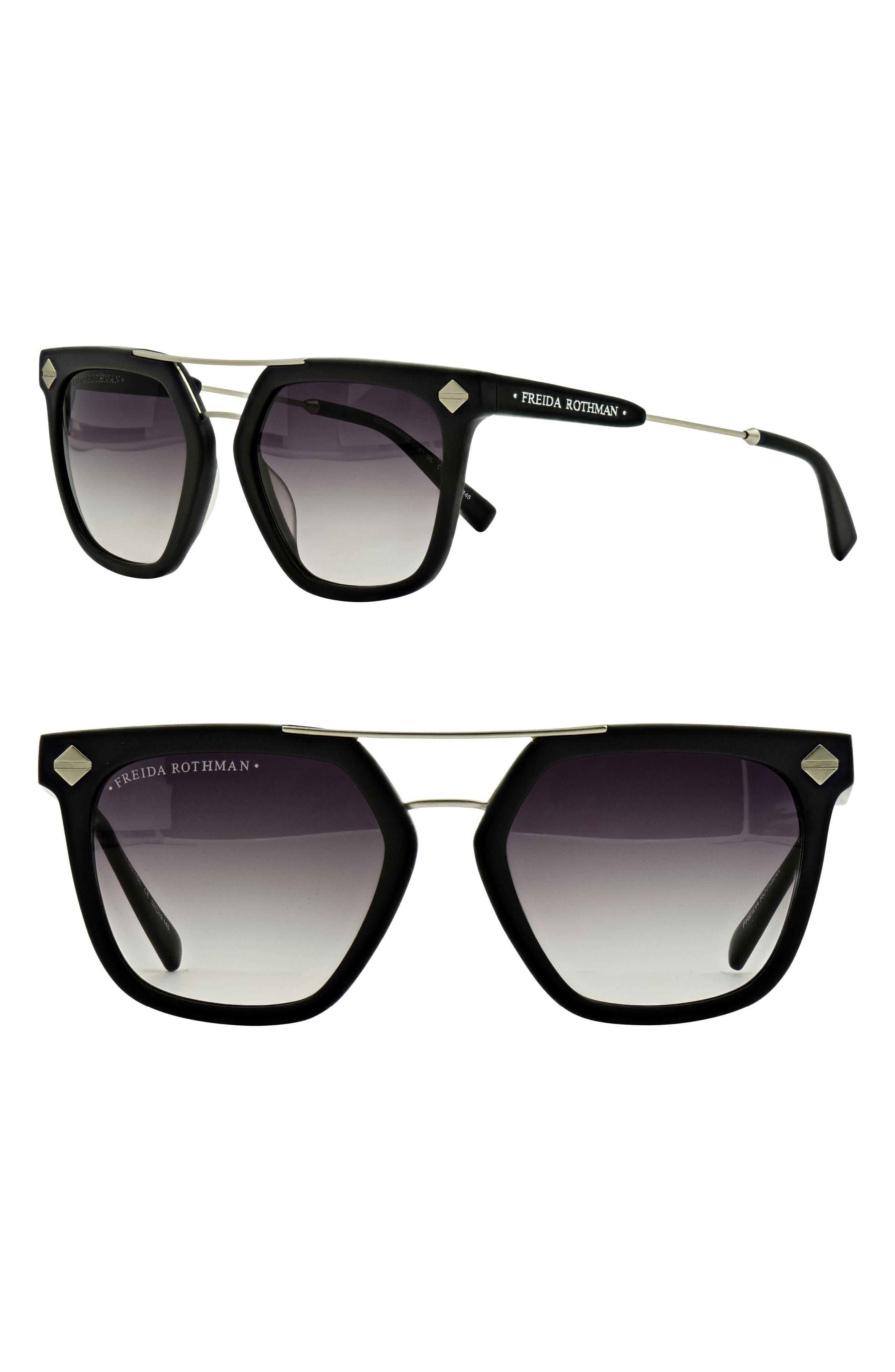 Beacon 52mm Aviator Sunglasses,                             Main thumbnail 3, color,
