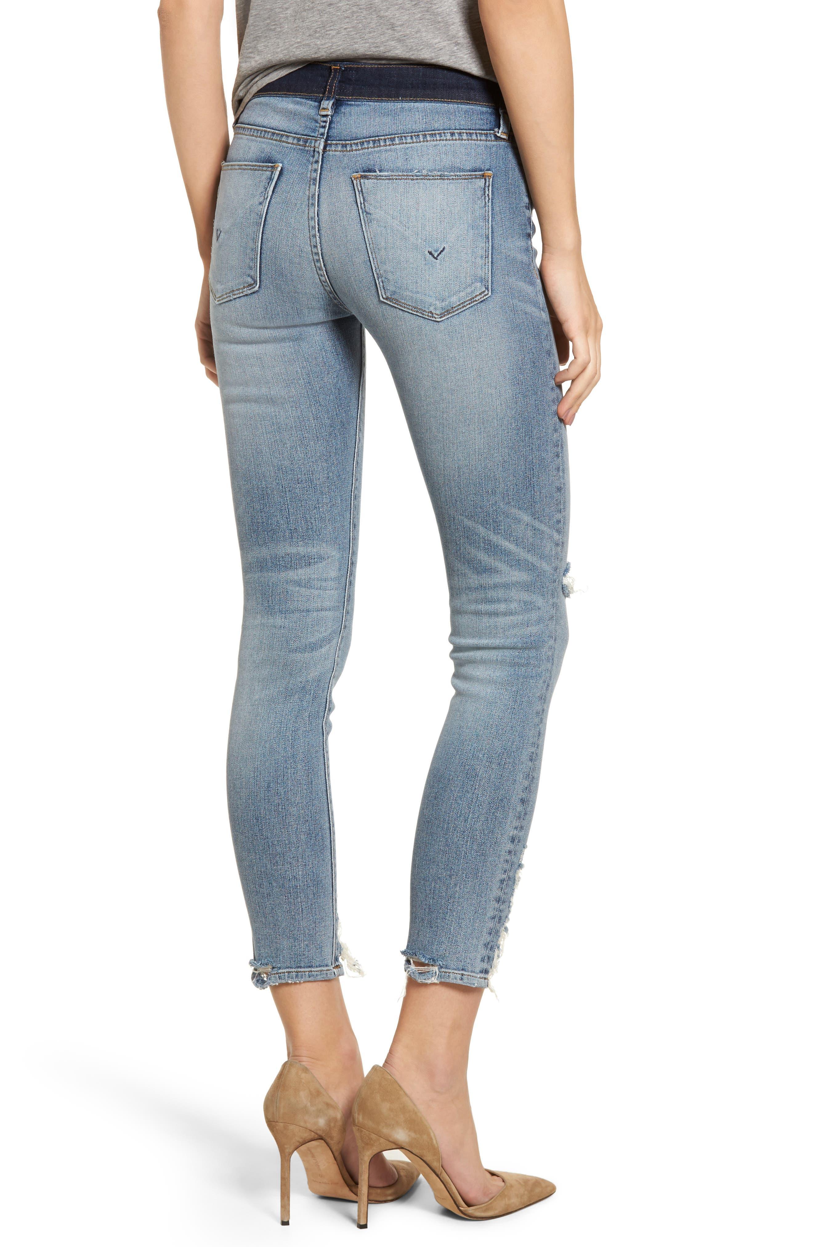 Hudson Nico Ankle Skinny Jeans,                             Alternate thumbnail 2, color,                             GAME CHANGER