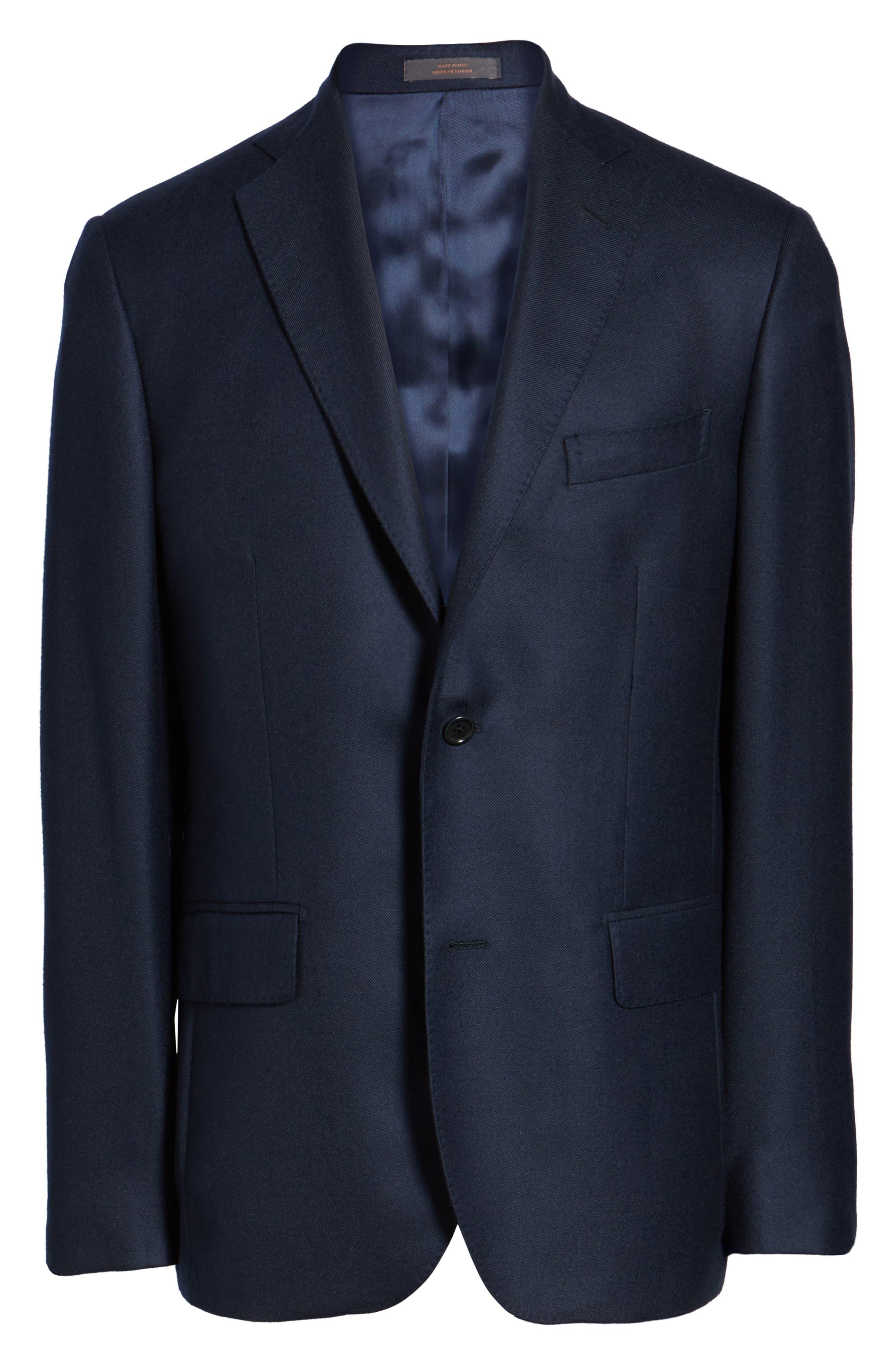 Classic Fit Cashmere Blazer,                             Alternate thumbnail 6, color,