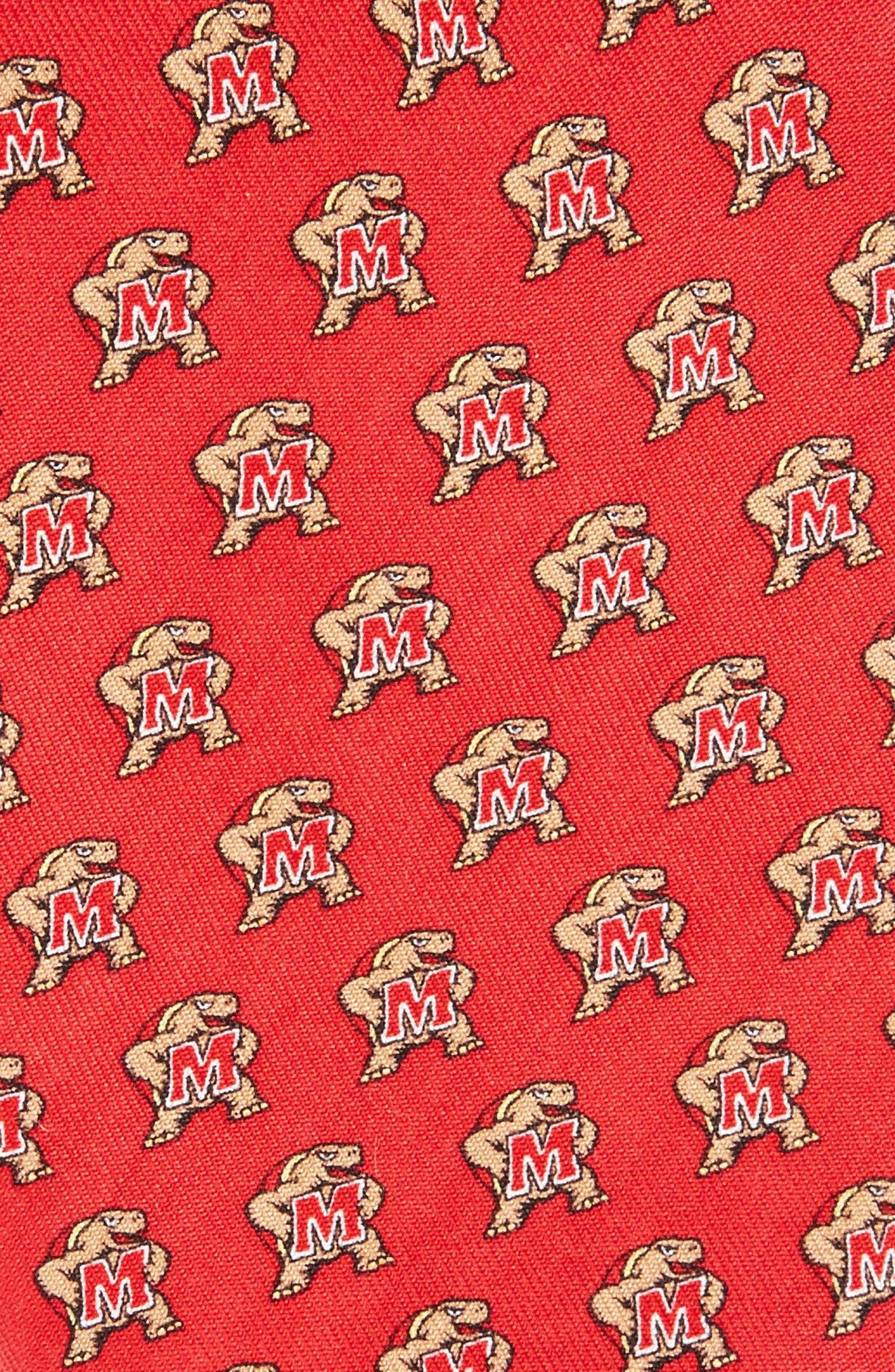 University of Maryland Silk Tie,                             Alternate thumbnail 2, color,                             614