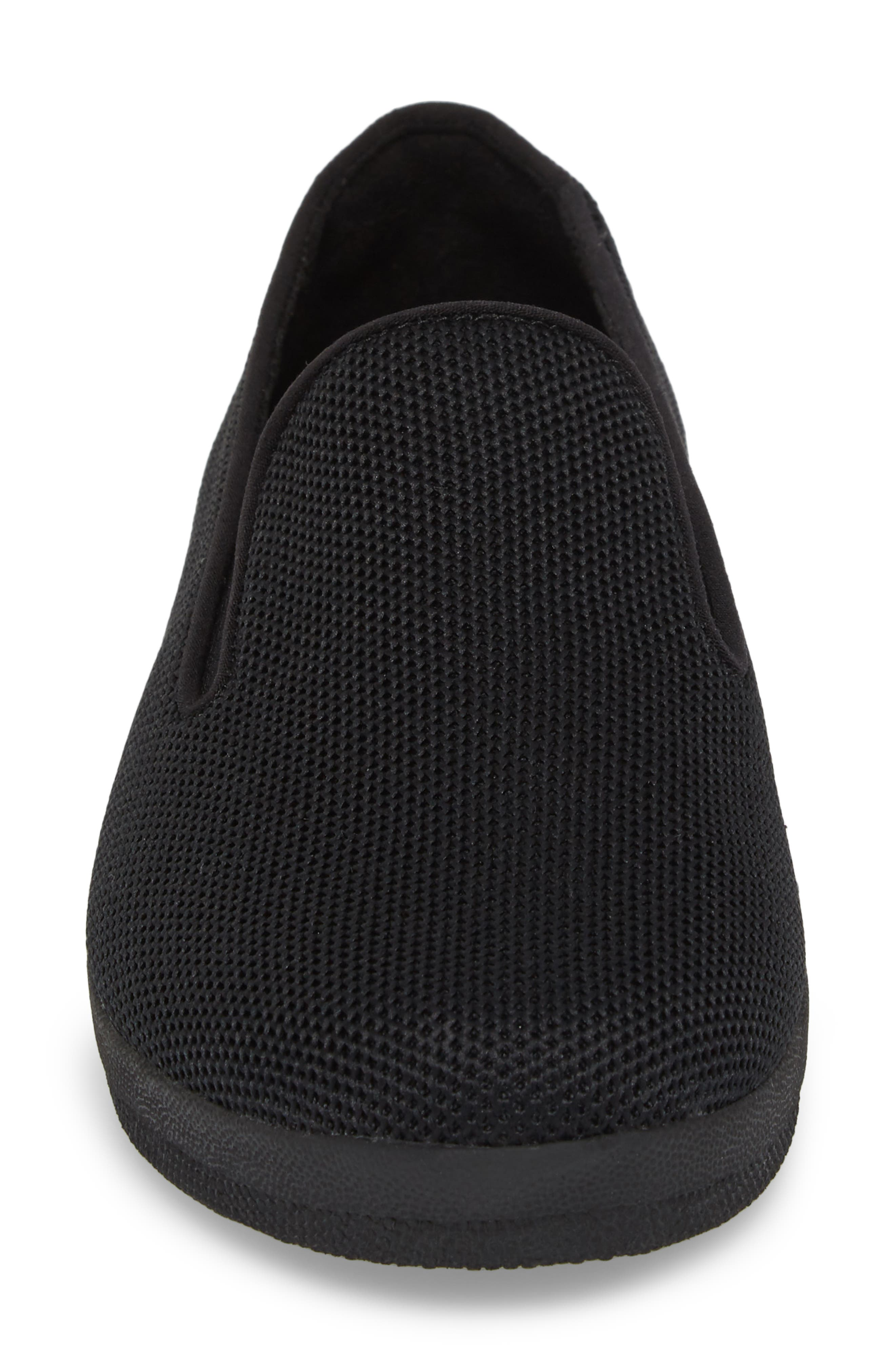 FITFLOP,                             Superskate<sup>™</sup> Überknit<sup>™</sup> Loafer,                             Alternate thumbnail 4, color,                             ALL BLACK