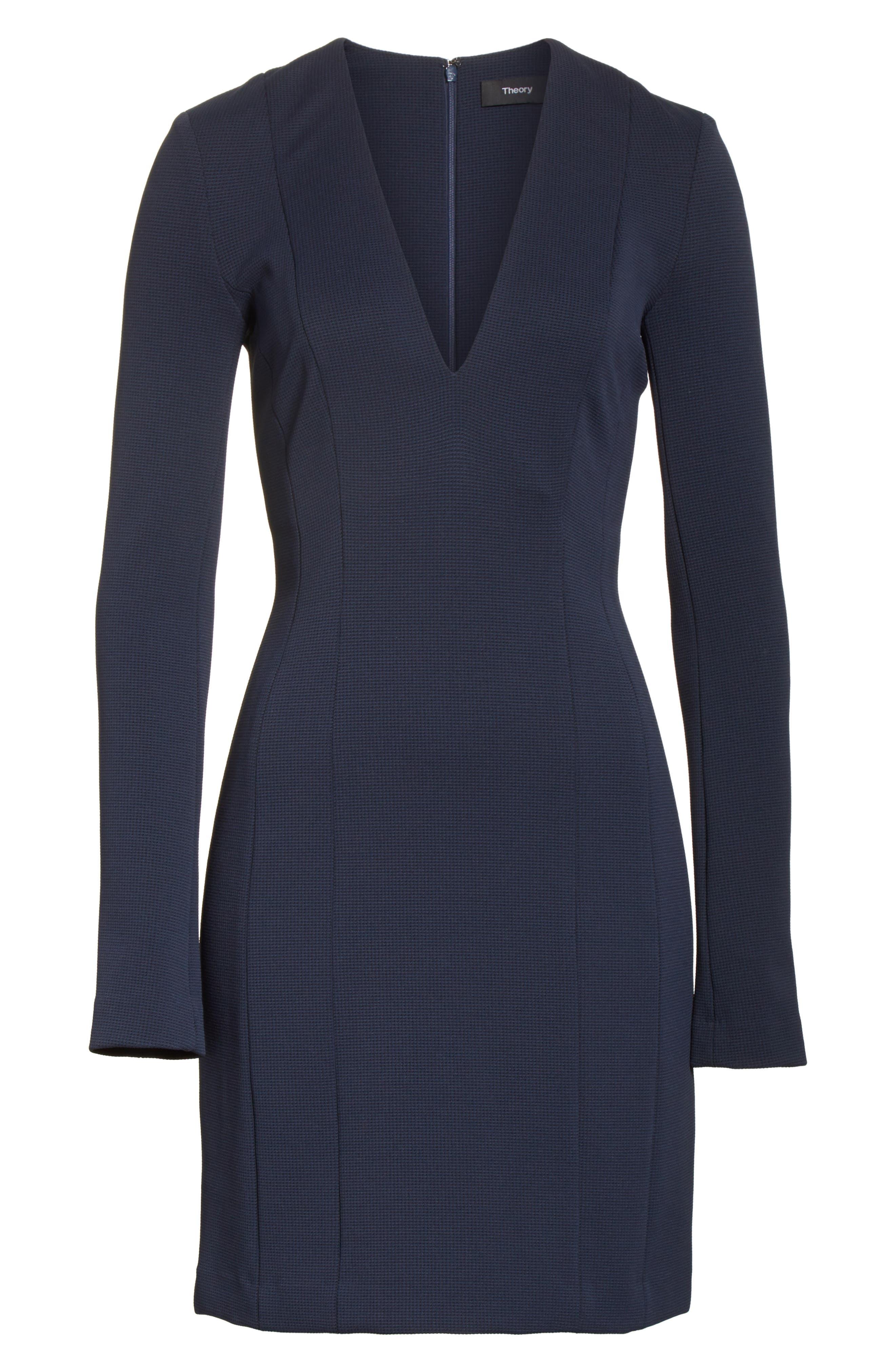 Tuscon Knit A-Line Dress,                             Alternate thumbnail 6, color,                             491