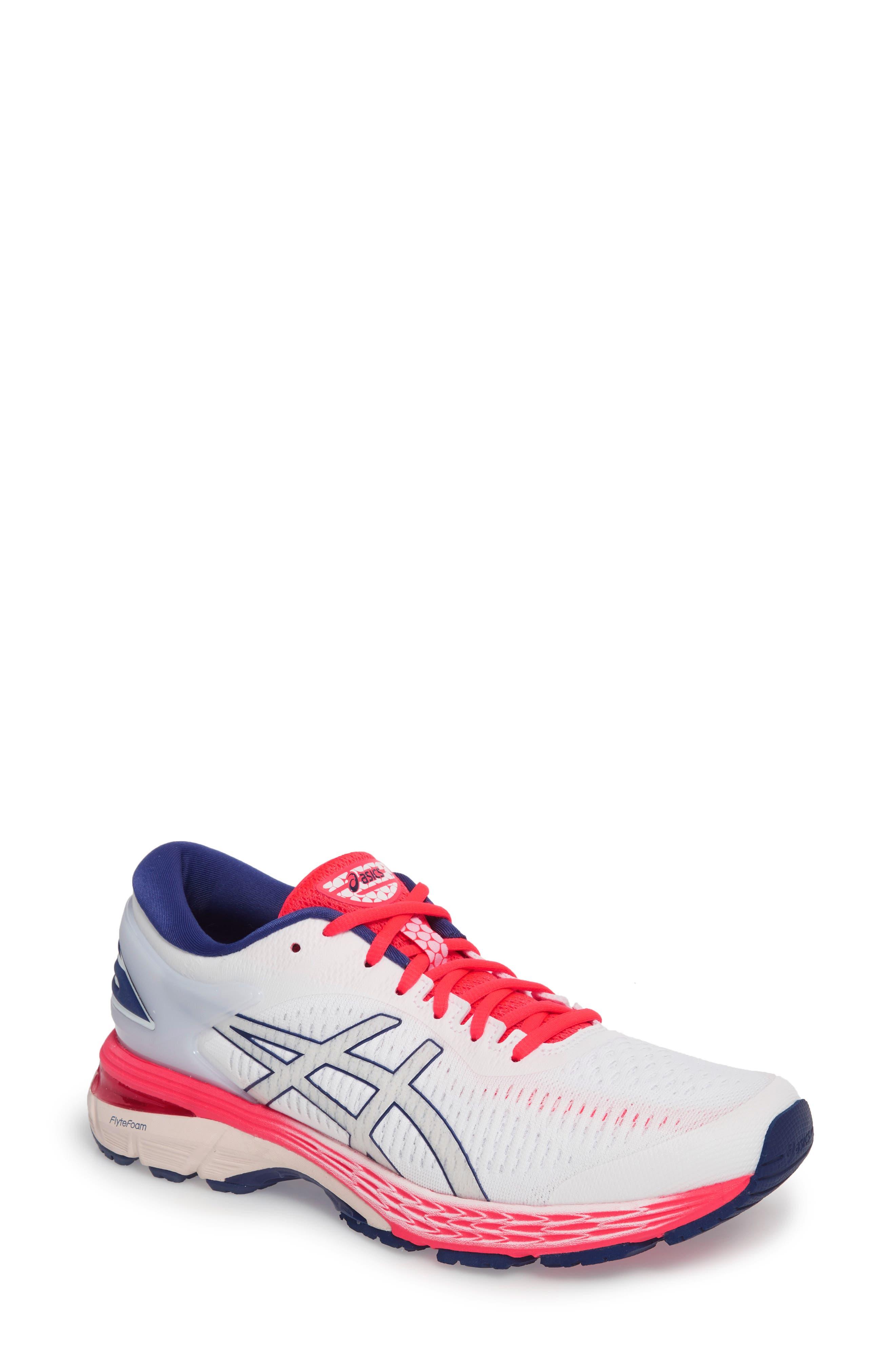 Asics Gel-Kayano 25 Running Shoe, White