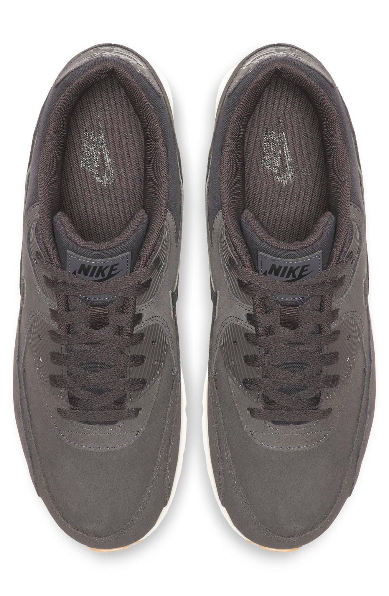 Air Max 90 Ultra 2.0 Sneaker,                             Alternate thumbnail 3, color,                             THUNDER GREY/ GREY/ LIGHT BONE