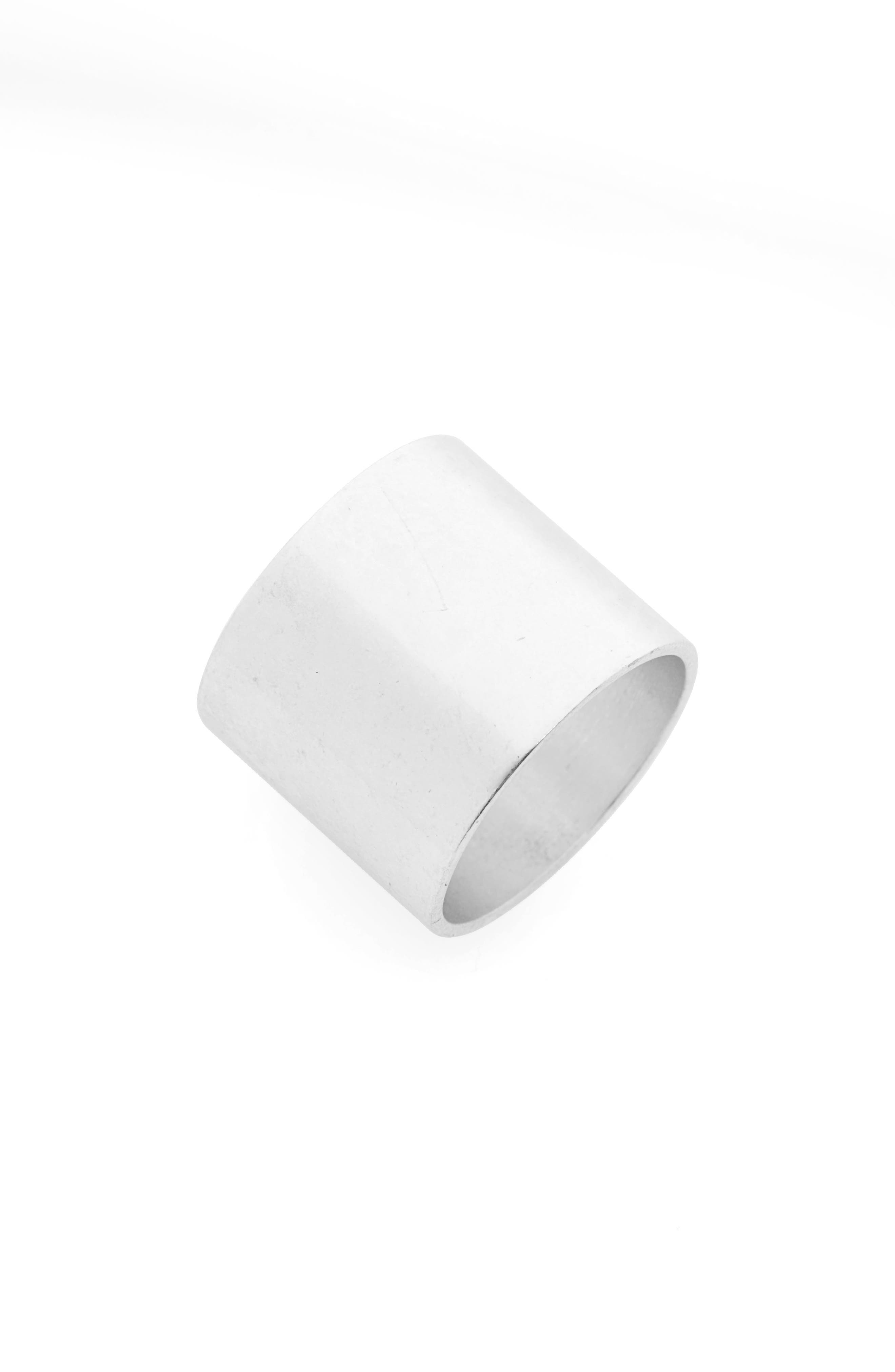 Band Ring,                         Main,                         color, LIGHT SILVER OX