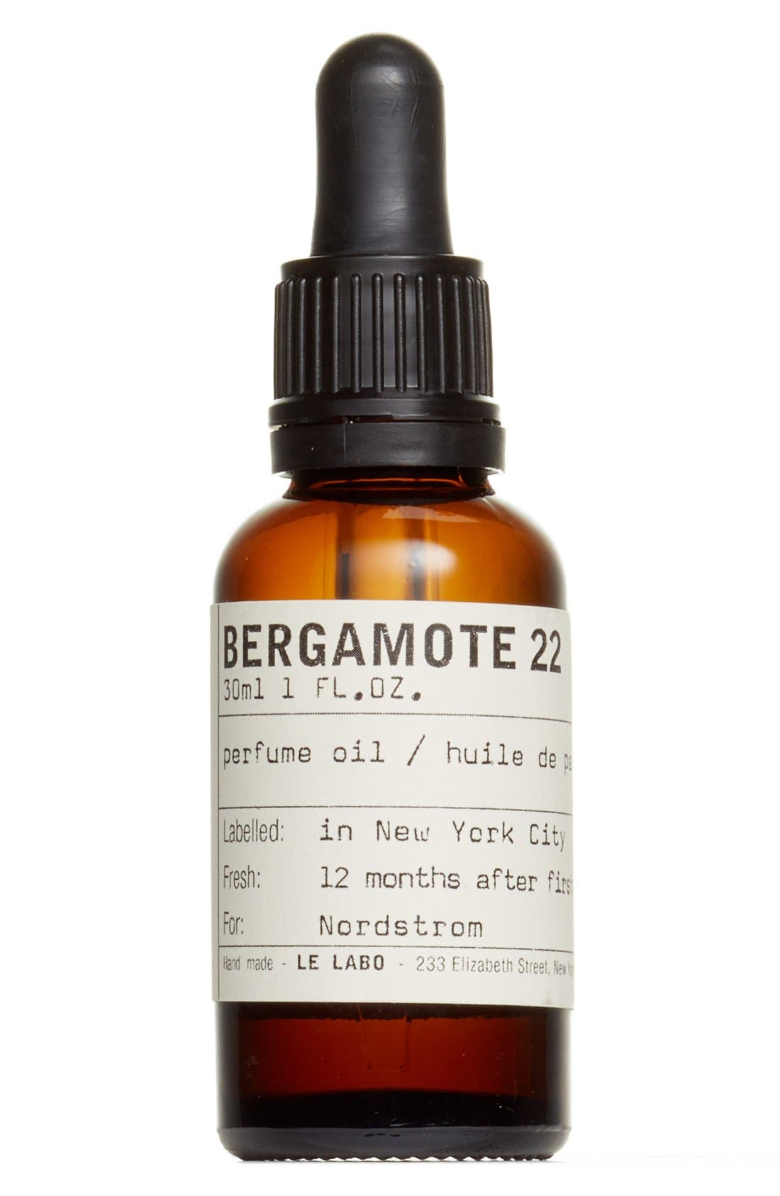 'Bergamote 22' Perfume Oil,                         Main,                         color, NO COLOR