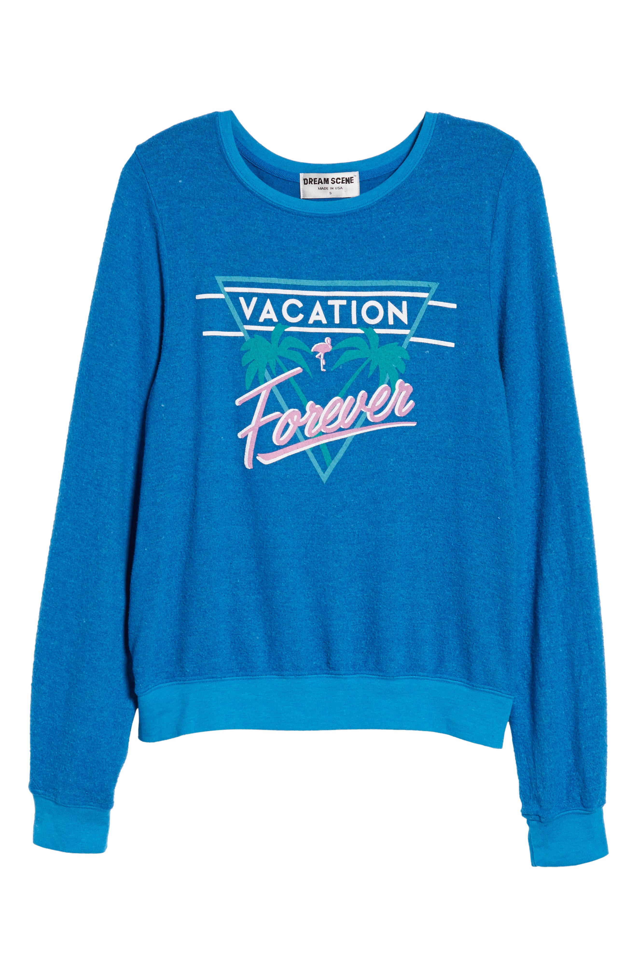 Vacation Forever Sweatshirt,                             Alternate thumbnail 6, color,                             401