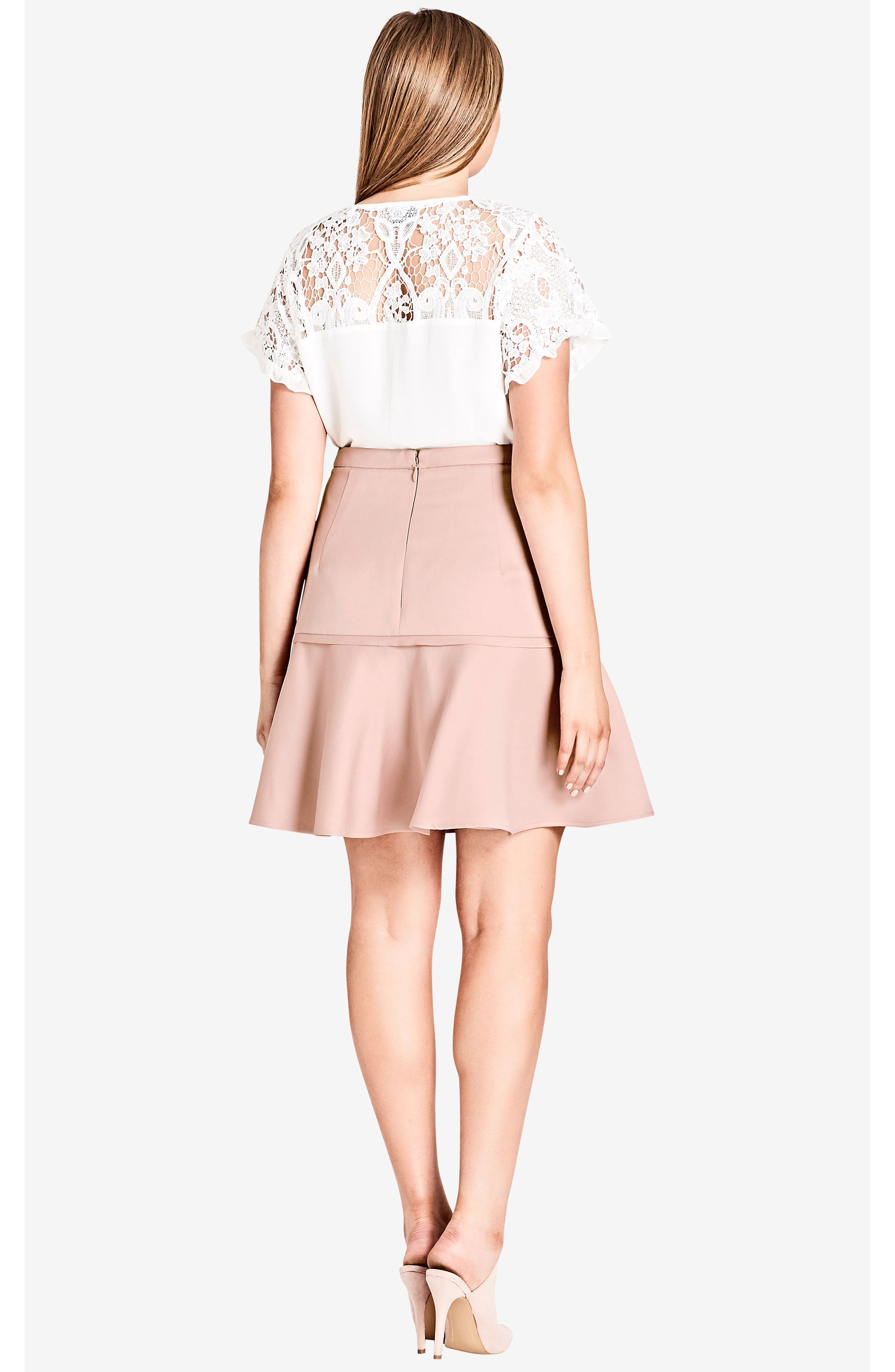Frill Me Ruffle Skirt,                             Alternate thumbnail 6, color,                             657