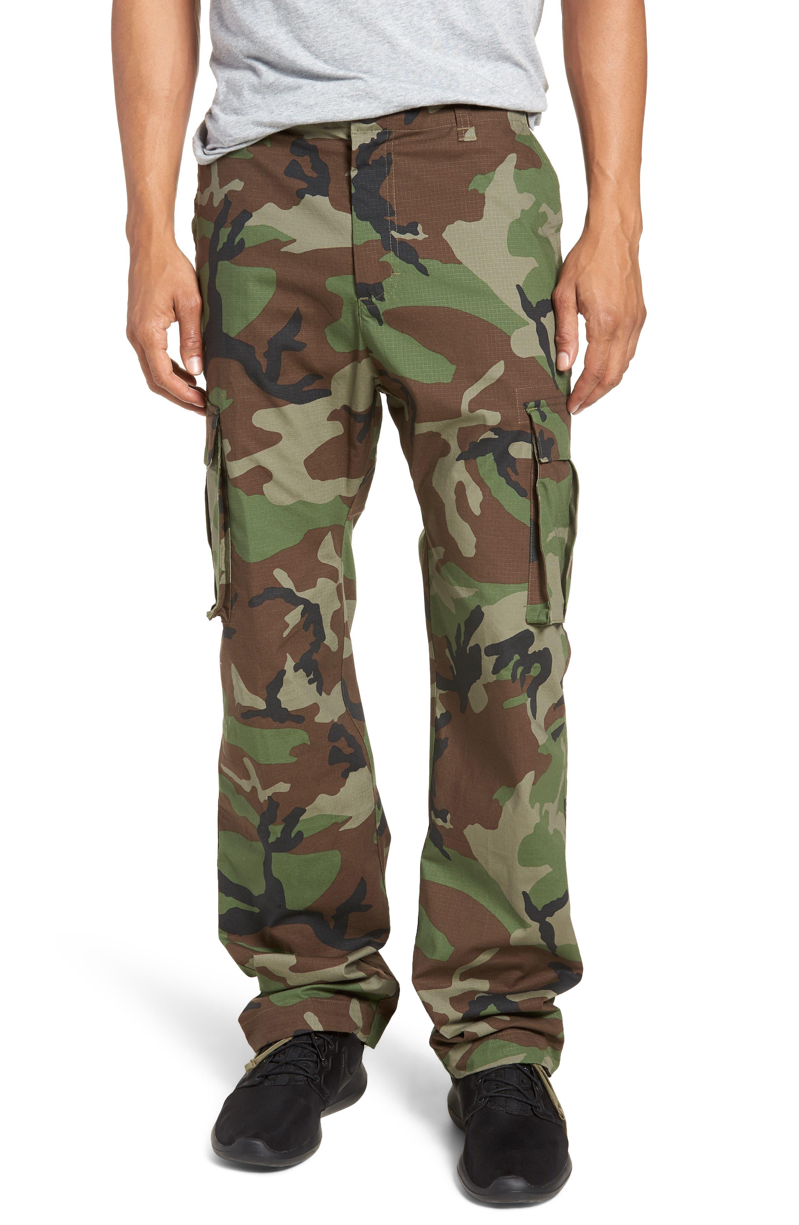 Flex Cargo Pants,                         Main,                         color, MEDIUM OLIVE