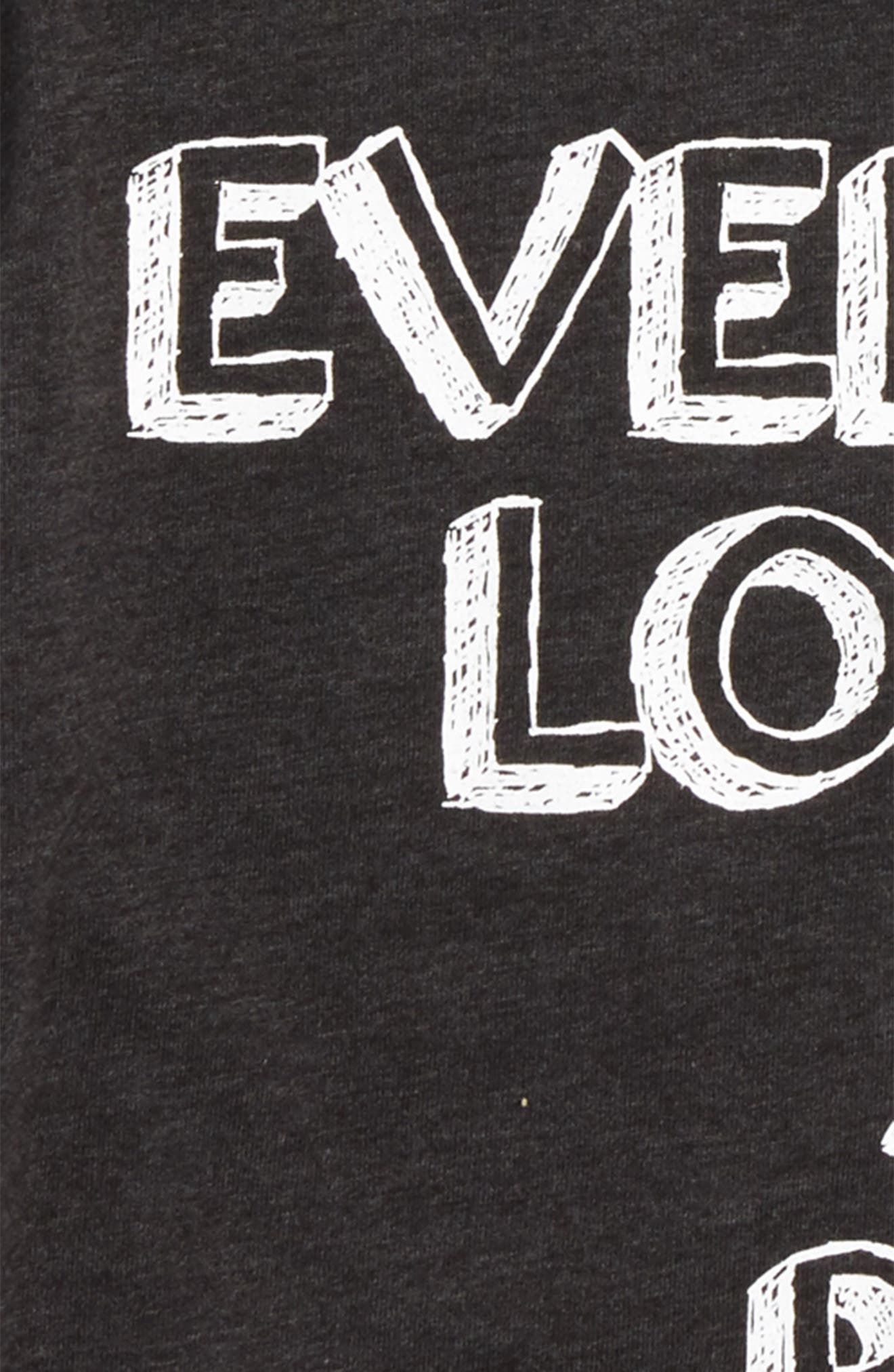 Everyone Loves a Big Brother Graphic T-Shirt,                             Alternate thumbnail 2, color,