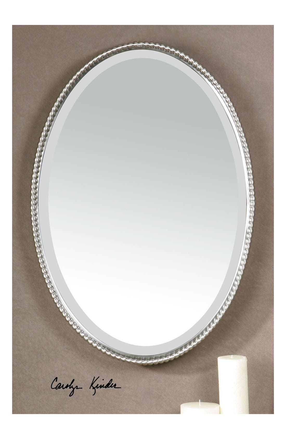 'Sherise' Oval Mirror,                             Alternate thumbnail 5, color,                             040