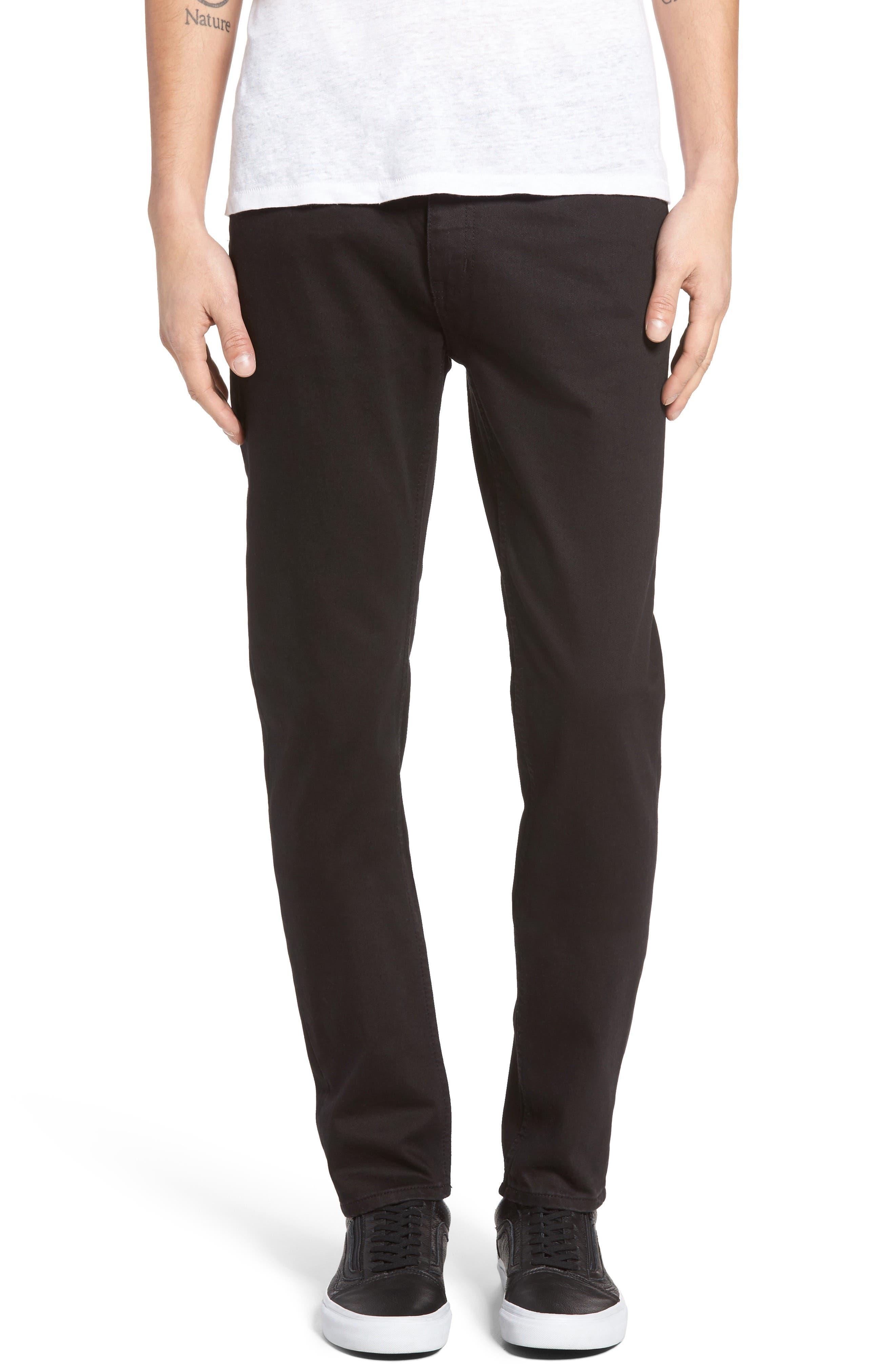 CHEAP MONDAY Sonic Slim Fit Jeans, Main, color, 001