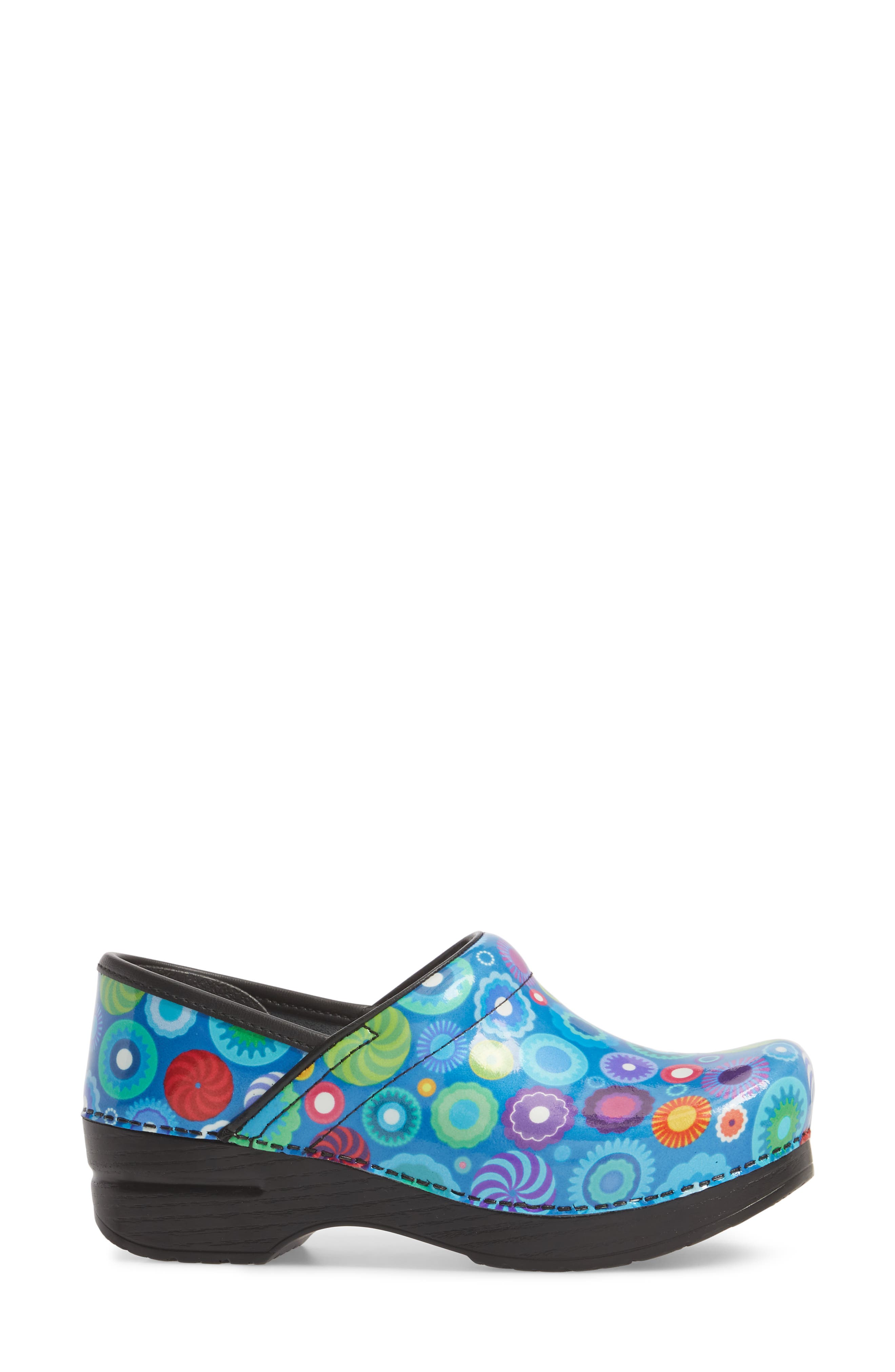 Professional Clog,                             Alternate thumbnail 3, color,                             CANDY PATENT LEATHER