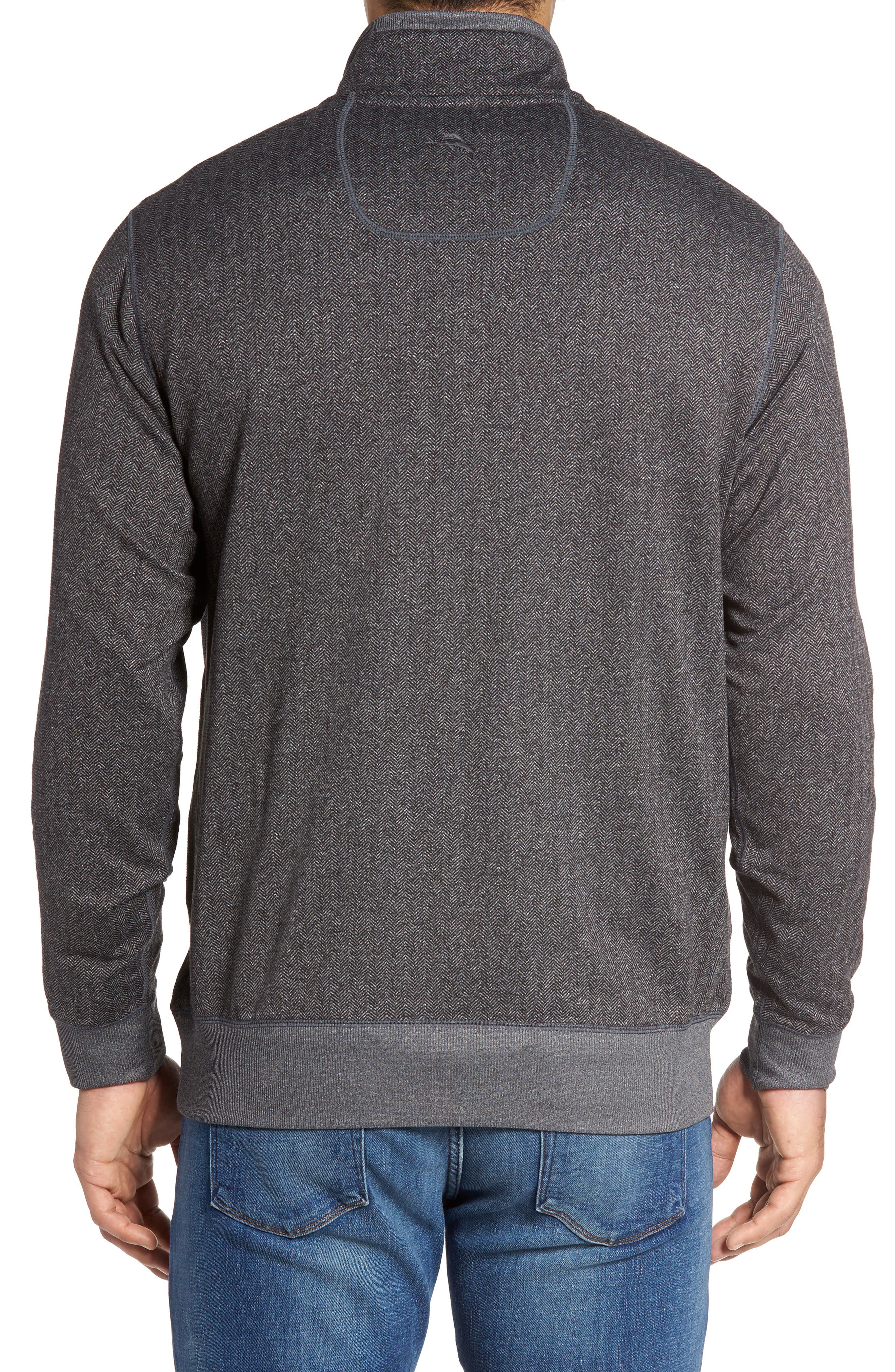 Pro Formance Quarter Zip Sweater,                             Alternate thumbnail 3, color,                             050