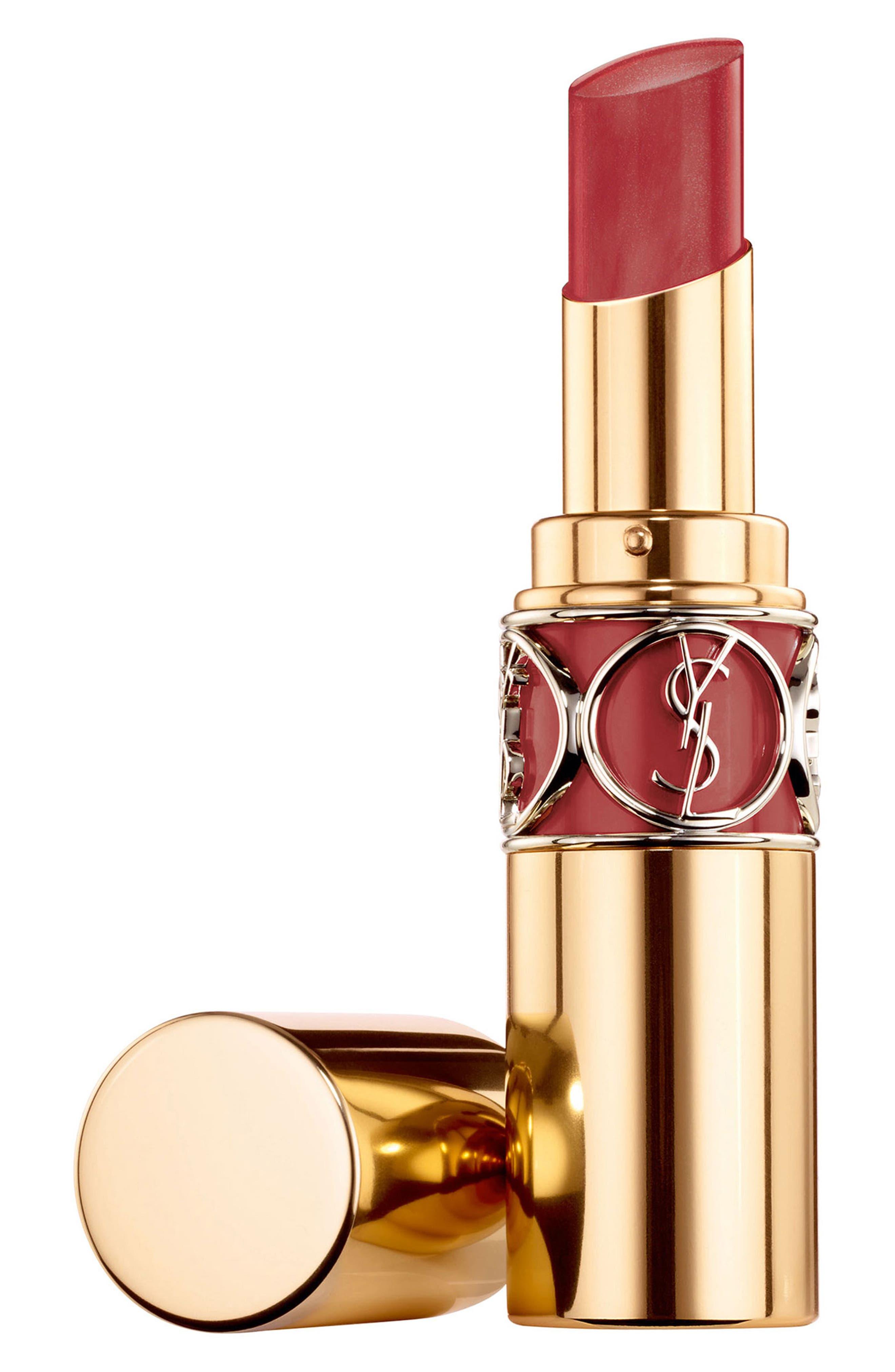 Yves Saint Laurent Rouge Volupte Shine Oil-In-Stick Lipstick - Burgundy Love