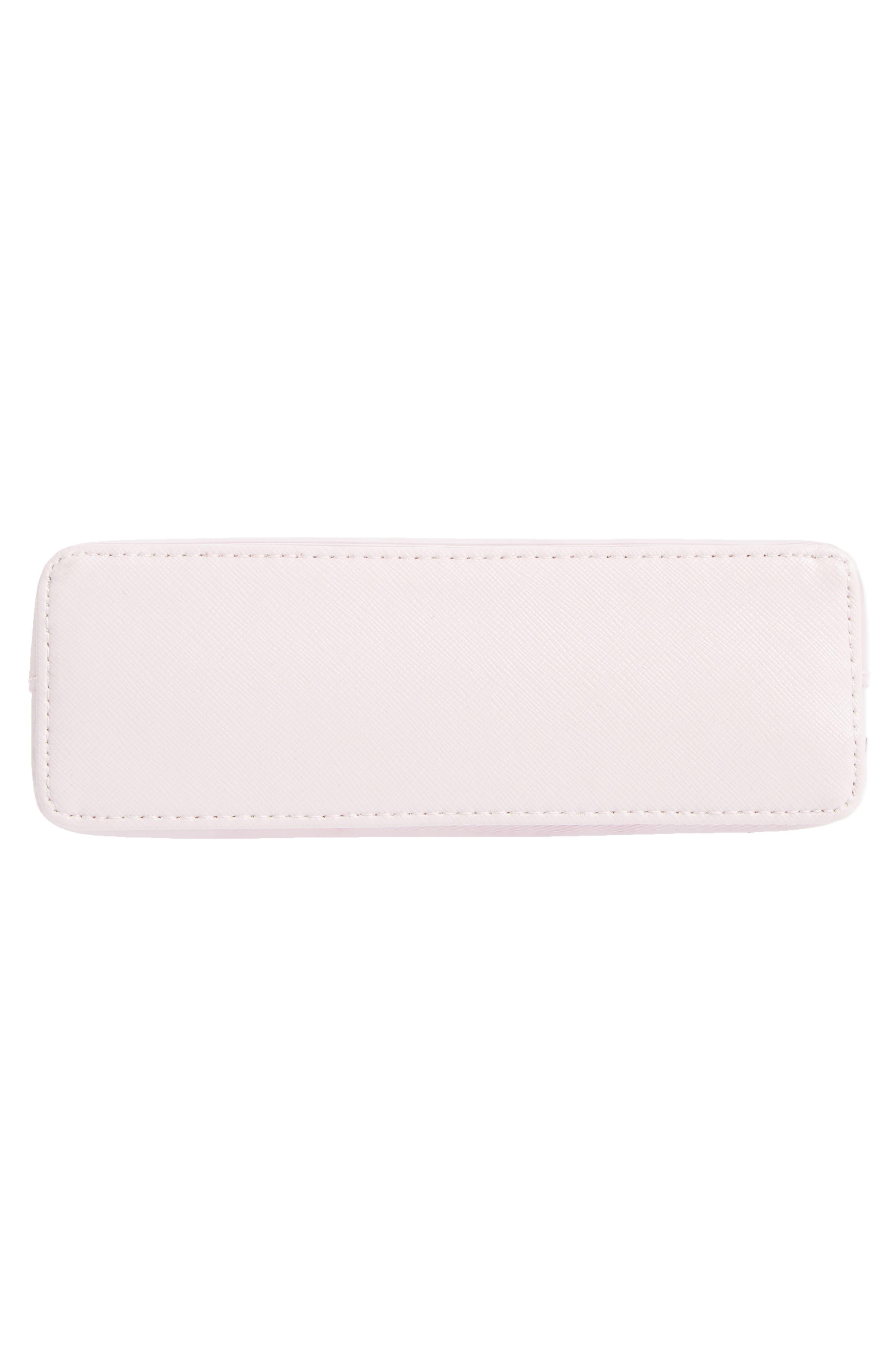 Zandra - Rose Quartz Cosmetics Bag,                             Alternate thumbnail 5, color,                             672