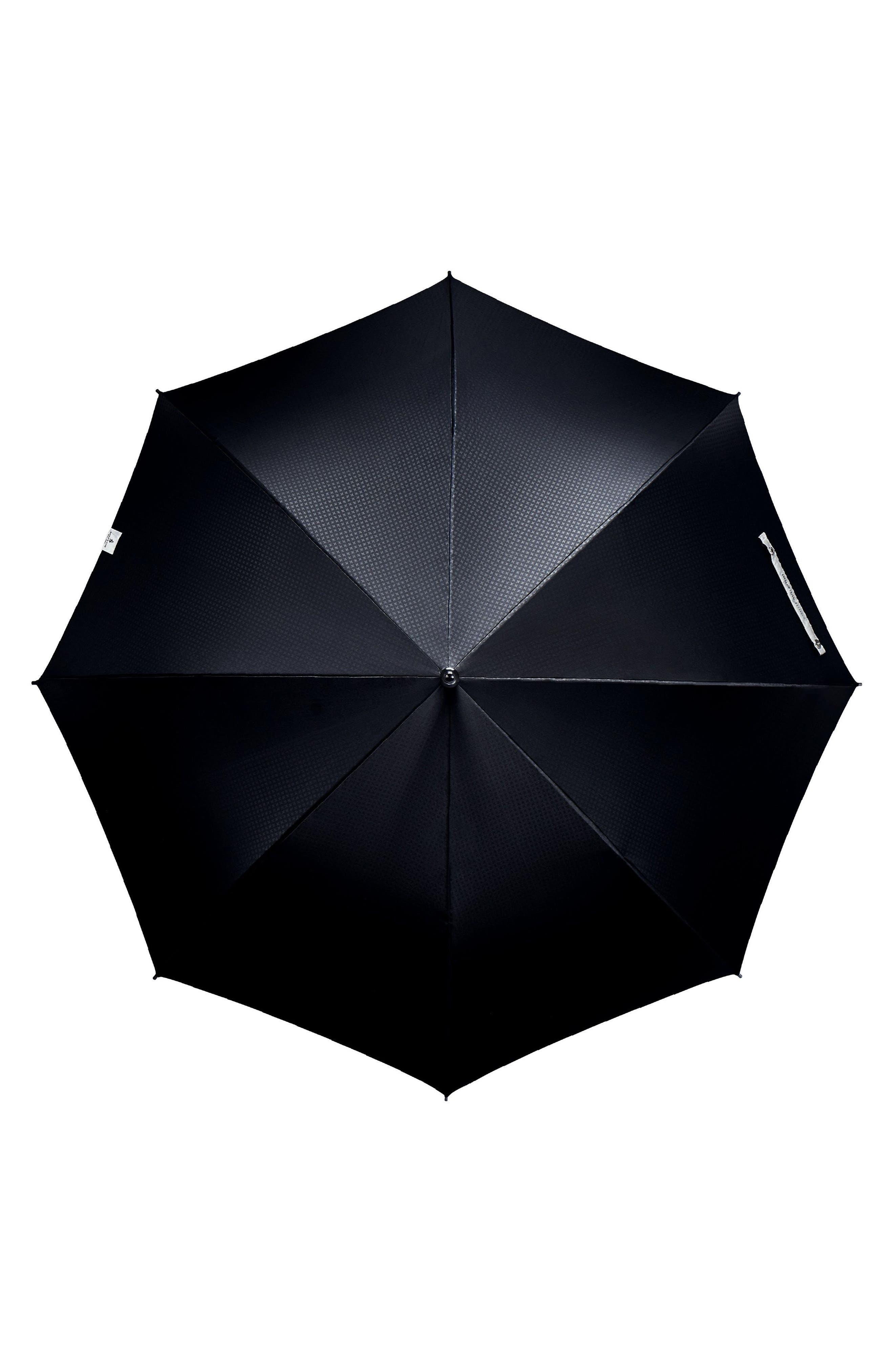 Stratus Auto Open Stick Umbrella,                             Alternate thumbnail 3, color,