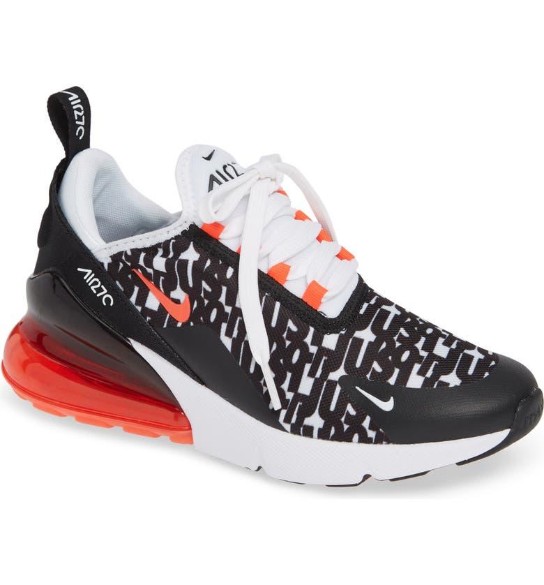buy popular fbcd4 45541 NIKE Air Max 270 Print Sneaker, Main, color, 001