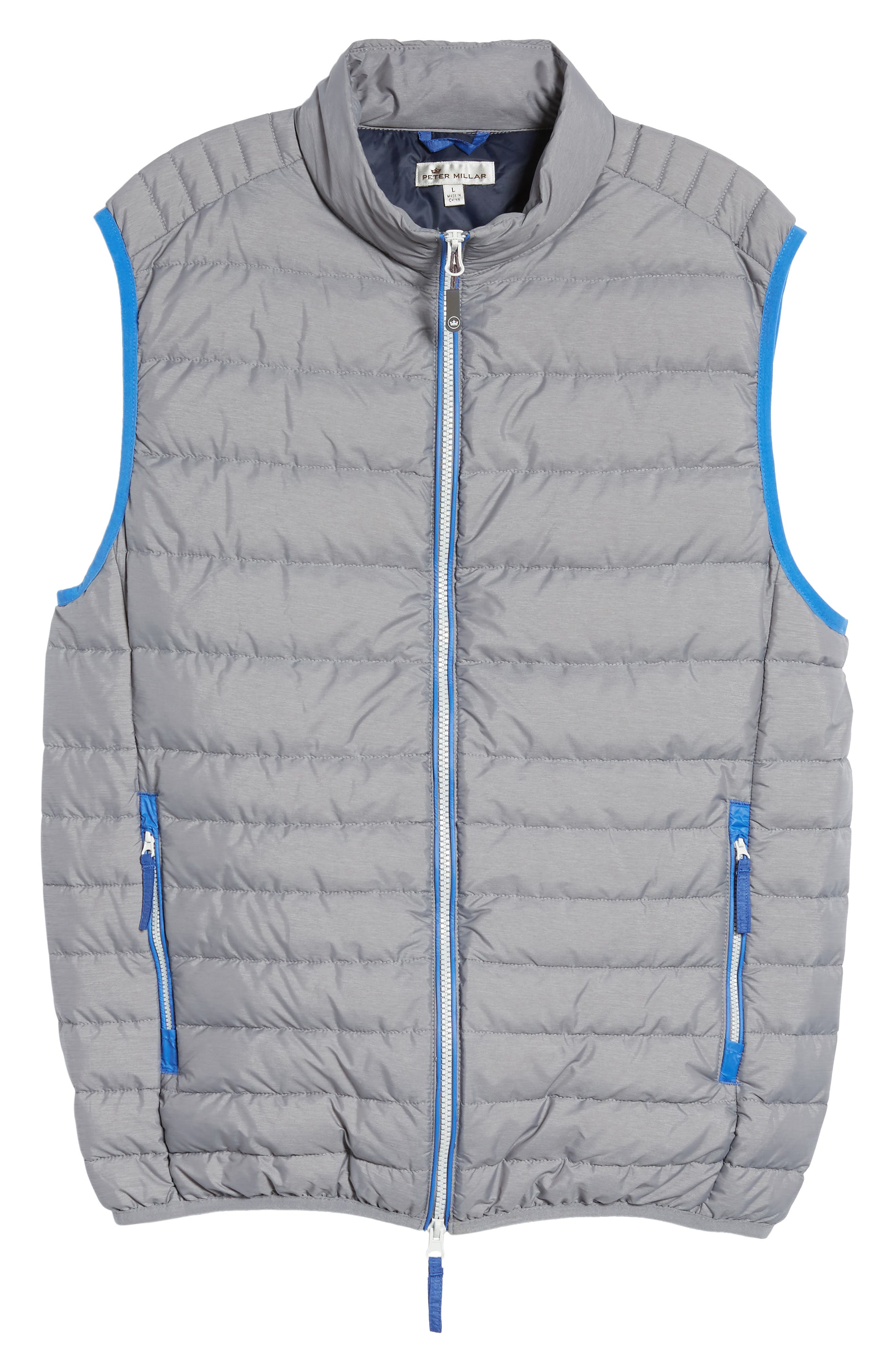 Crown Elite Light Down Vest,                             Alternate thumbnail 5, color,                             010