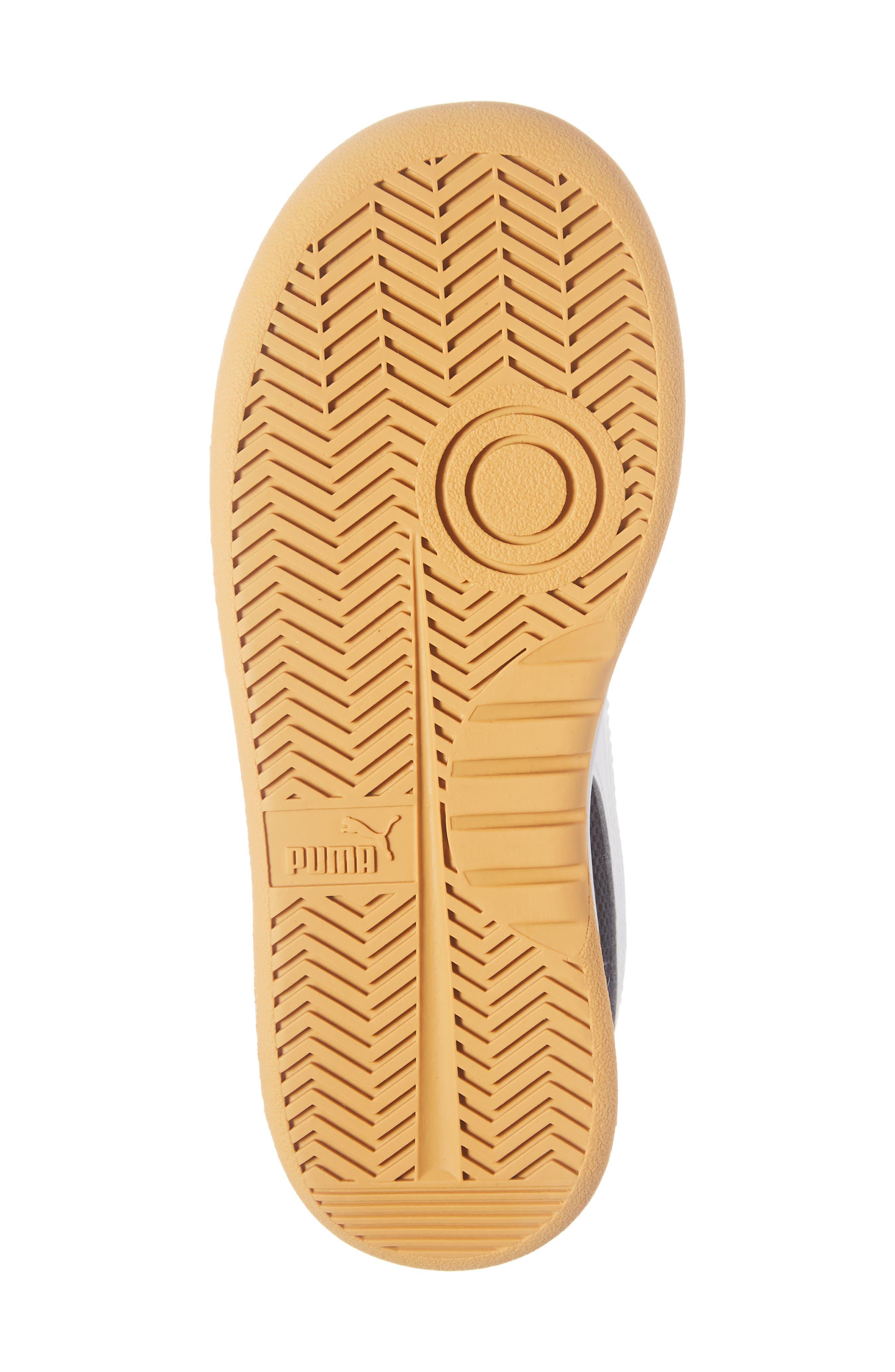 California Casual Jr. Sneaker,                             Alternate thumbnail 6, color,                             PEACOAT-PUMA WHITE-GOLD