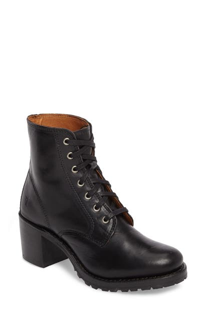 Frye Boots SABRINA 6G LACE-UP BOOT