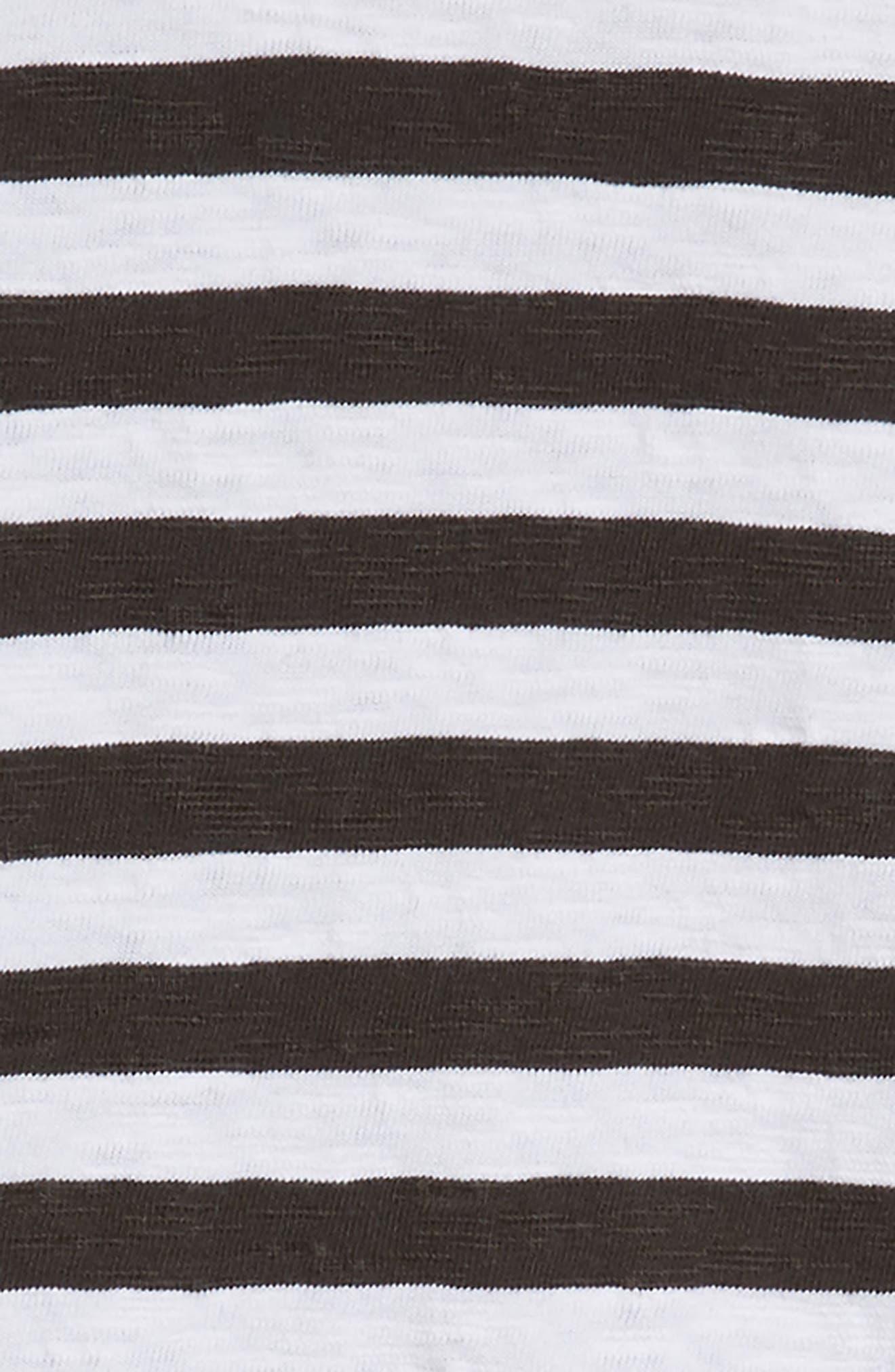 Mixed Stripe Dress,                             Alternate thumbnail 3, color,