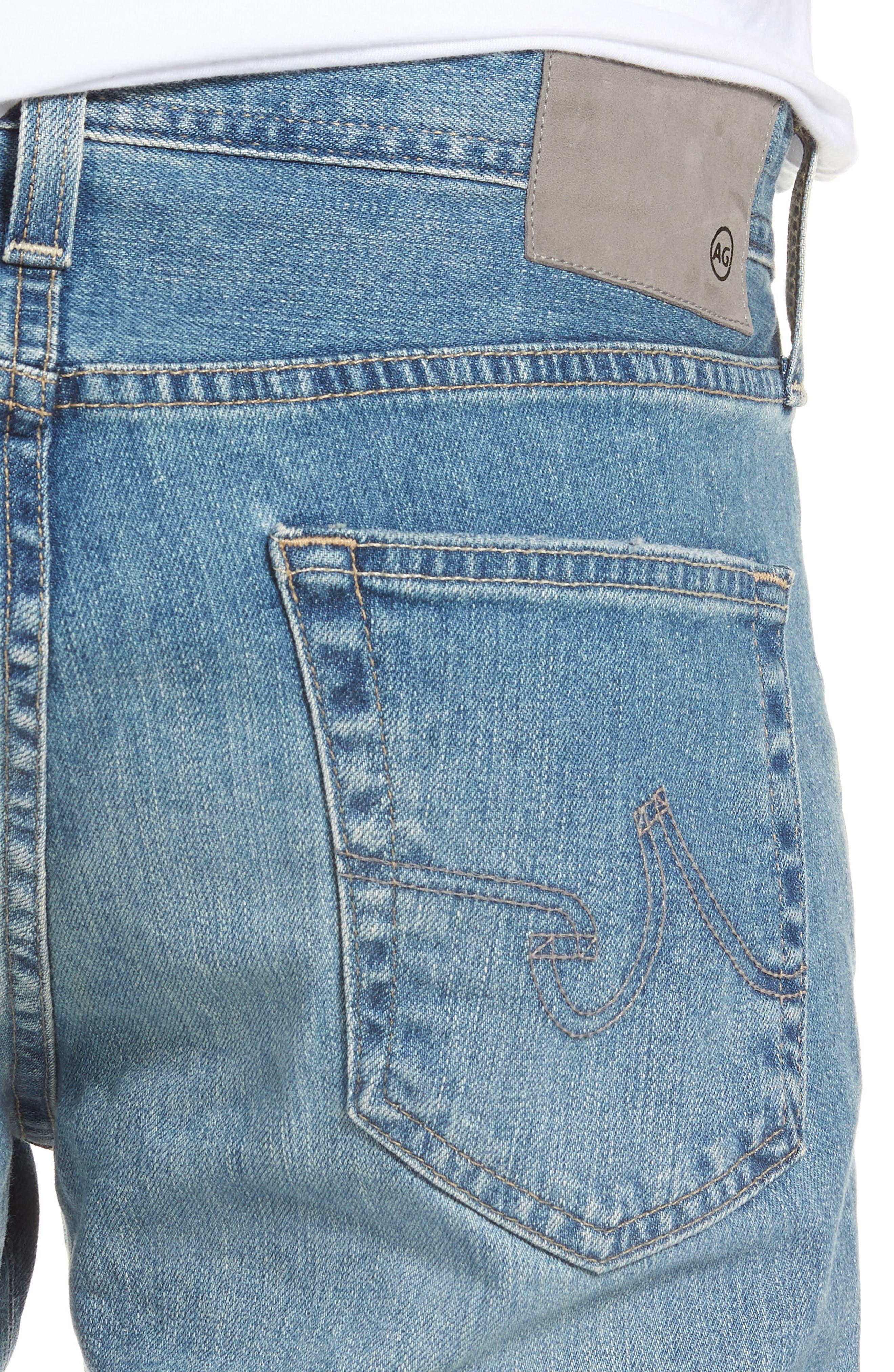 Dylan Skinny Fit Jeans,                             Alternate thumbnail 4, color,                             424