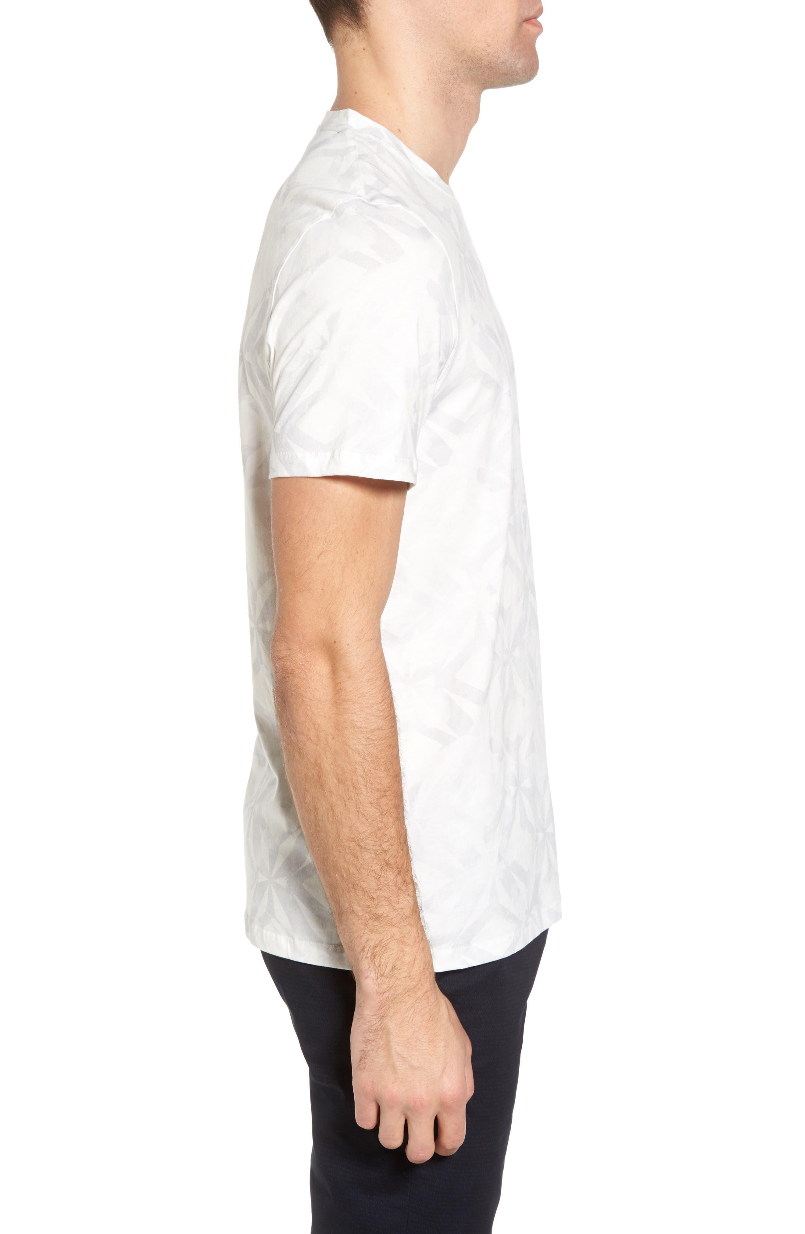 Woof Batik Print T-Shirt,                             Alternate thumbnail 3, color,                             110