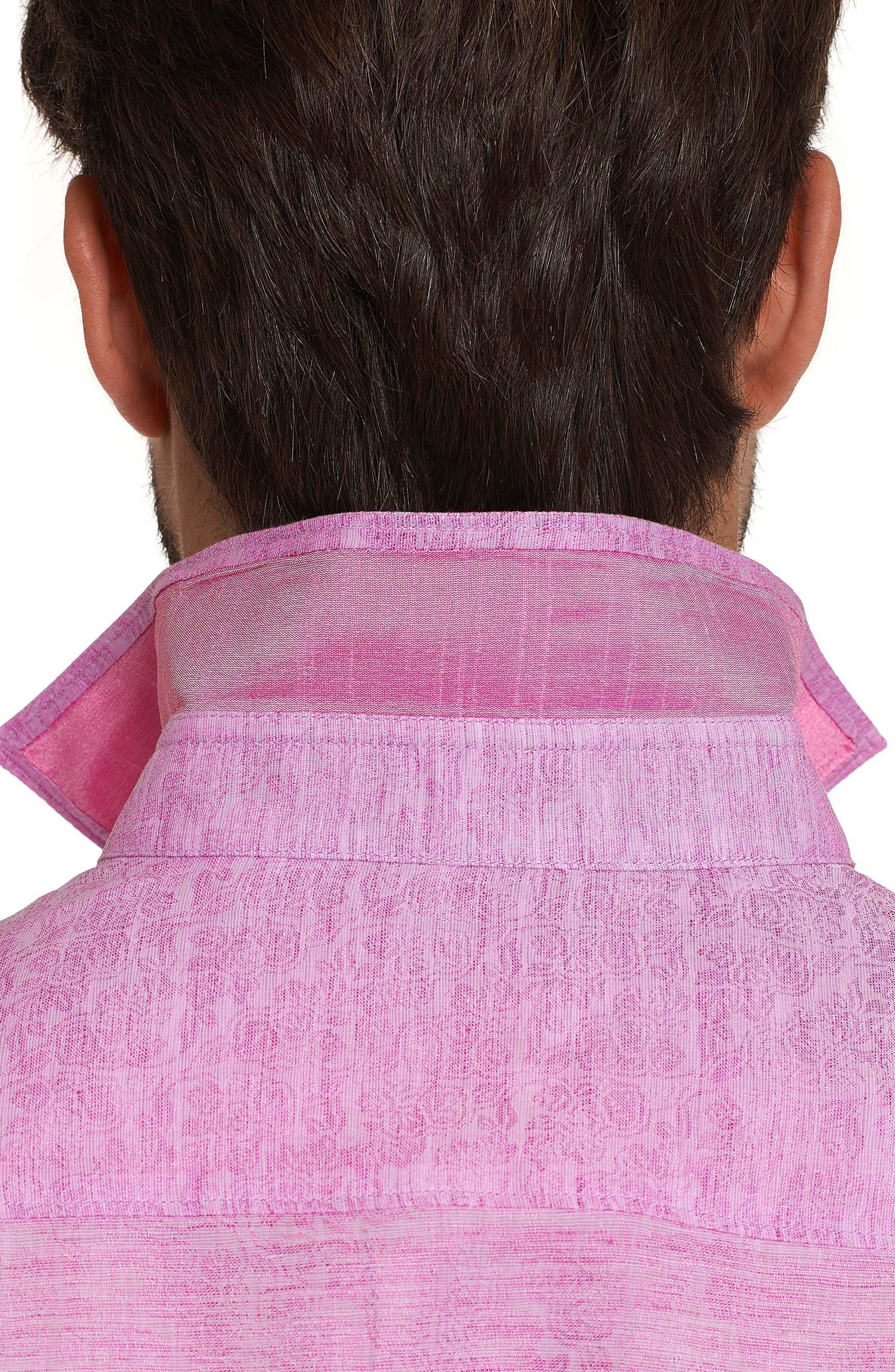 Cyprus Classic Fit Linen & Cotton Sport Shirt,                             Alternate thumbnail 11, color,
